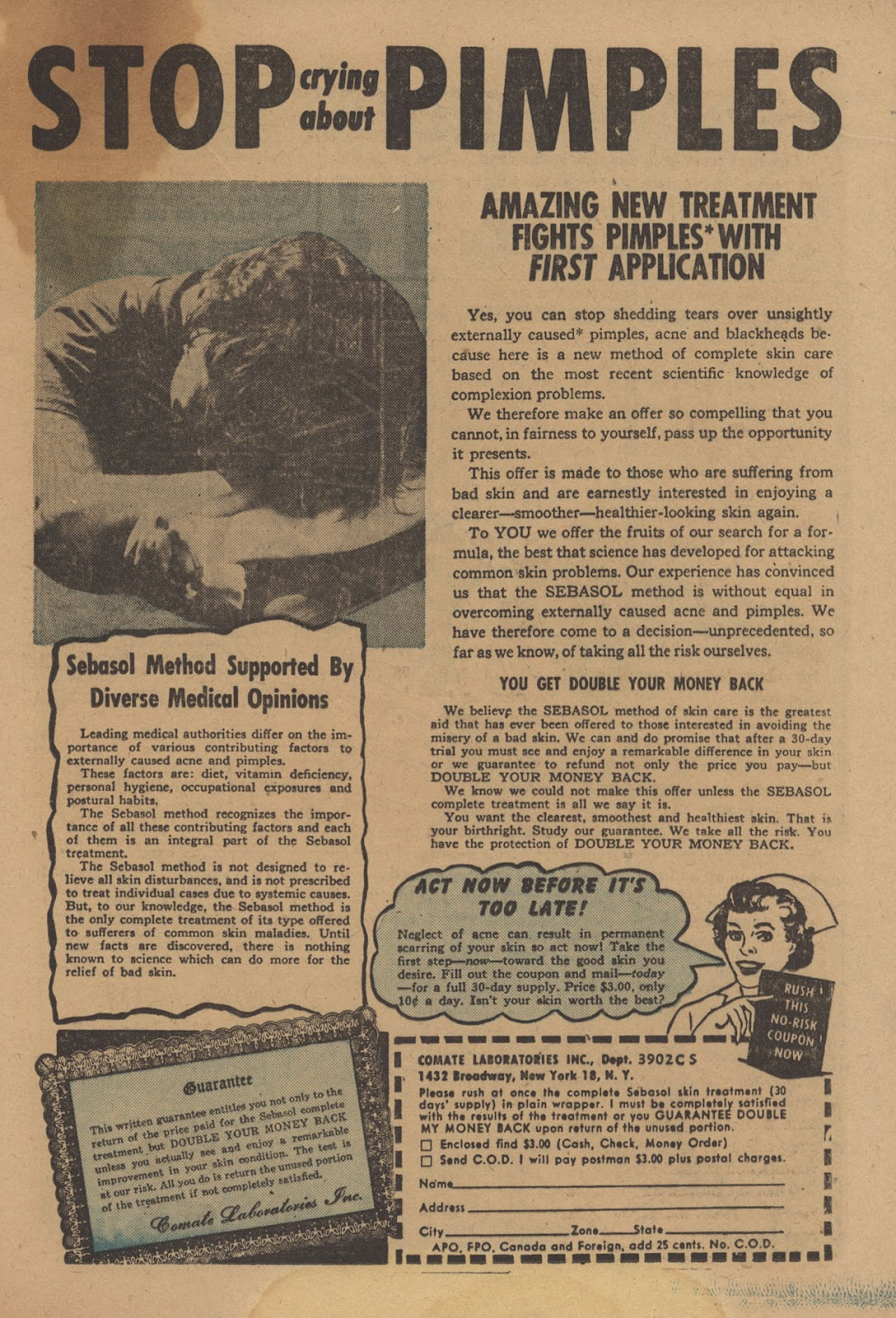 Love Romances (1949) issue 28 - Page 21