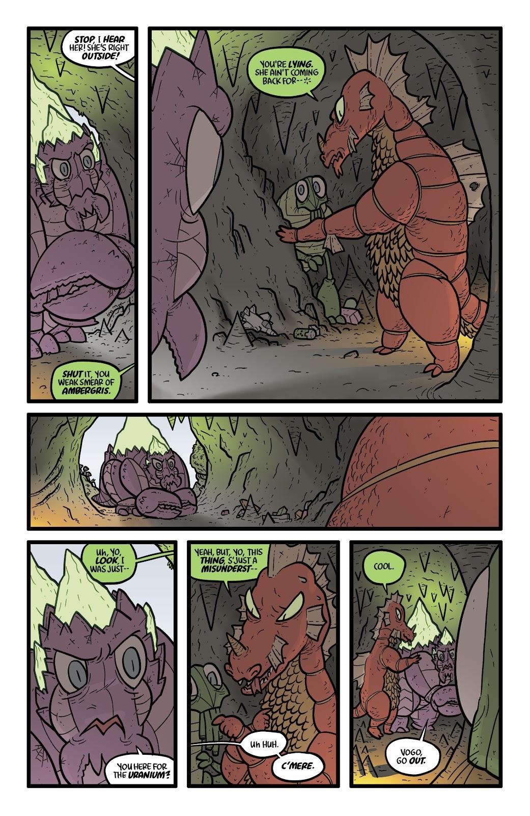 Read online Kaijumax: Season Four comic -  Issue #4 - 18