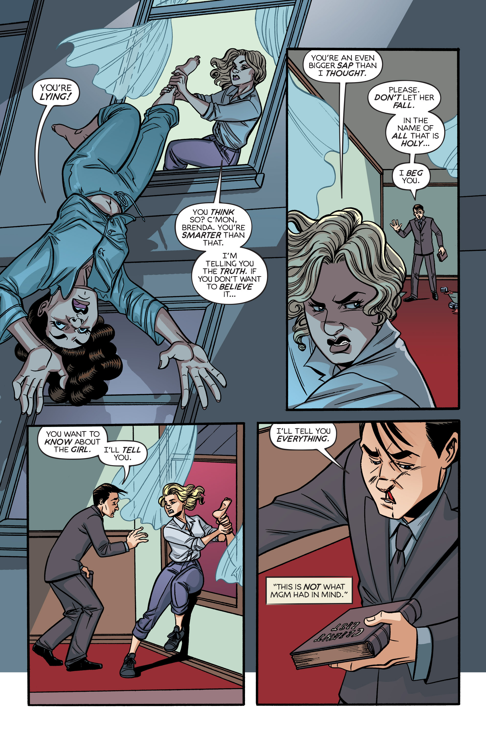 Read online Angel City comic -  Issue #6 - 12