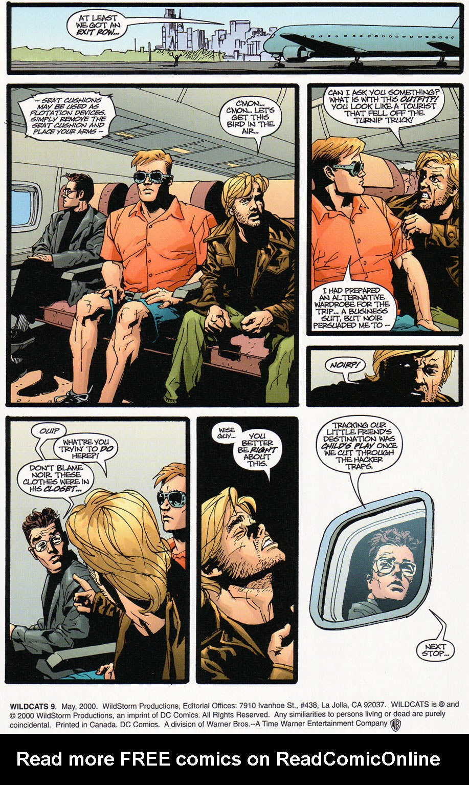 Wildcats (1999) Issue #9 #10 - English 2
