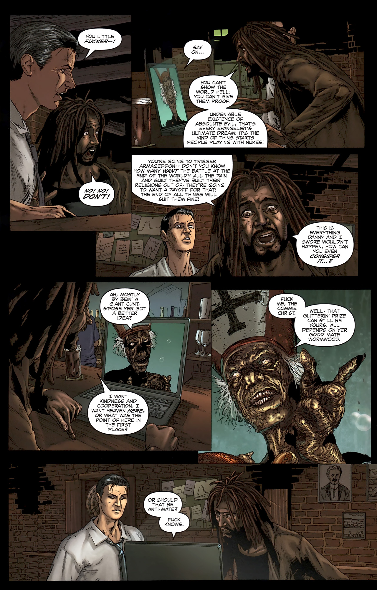 Read online Chronicles of Wormwood: The Last Battle comic -  Issue #5 - 17