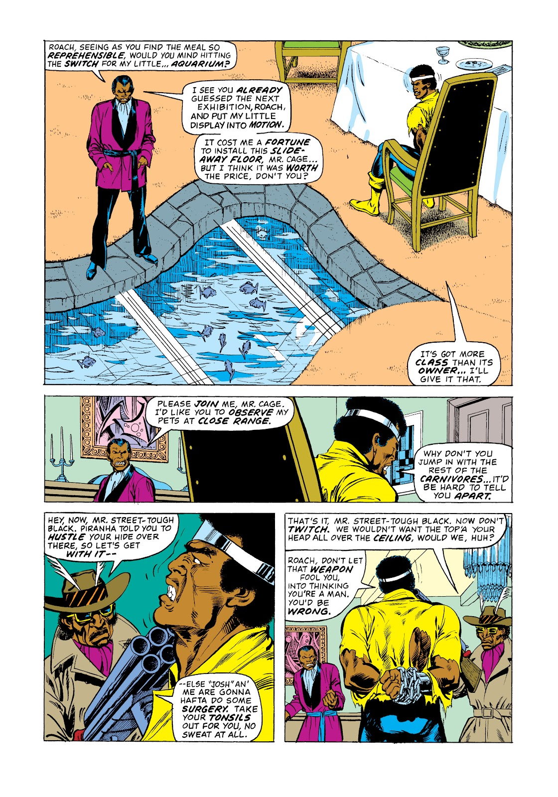 Read online Marvel Masterworks: Luke Cage, Power Man comic -  Issue # TPB 2 (Part 3) - 89