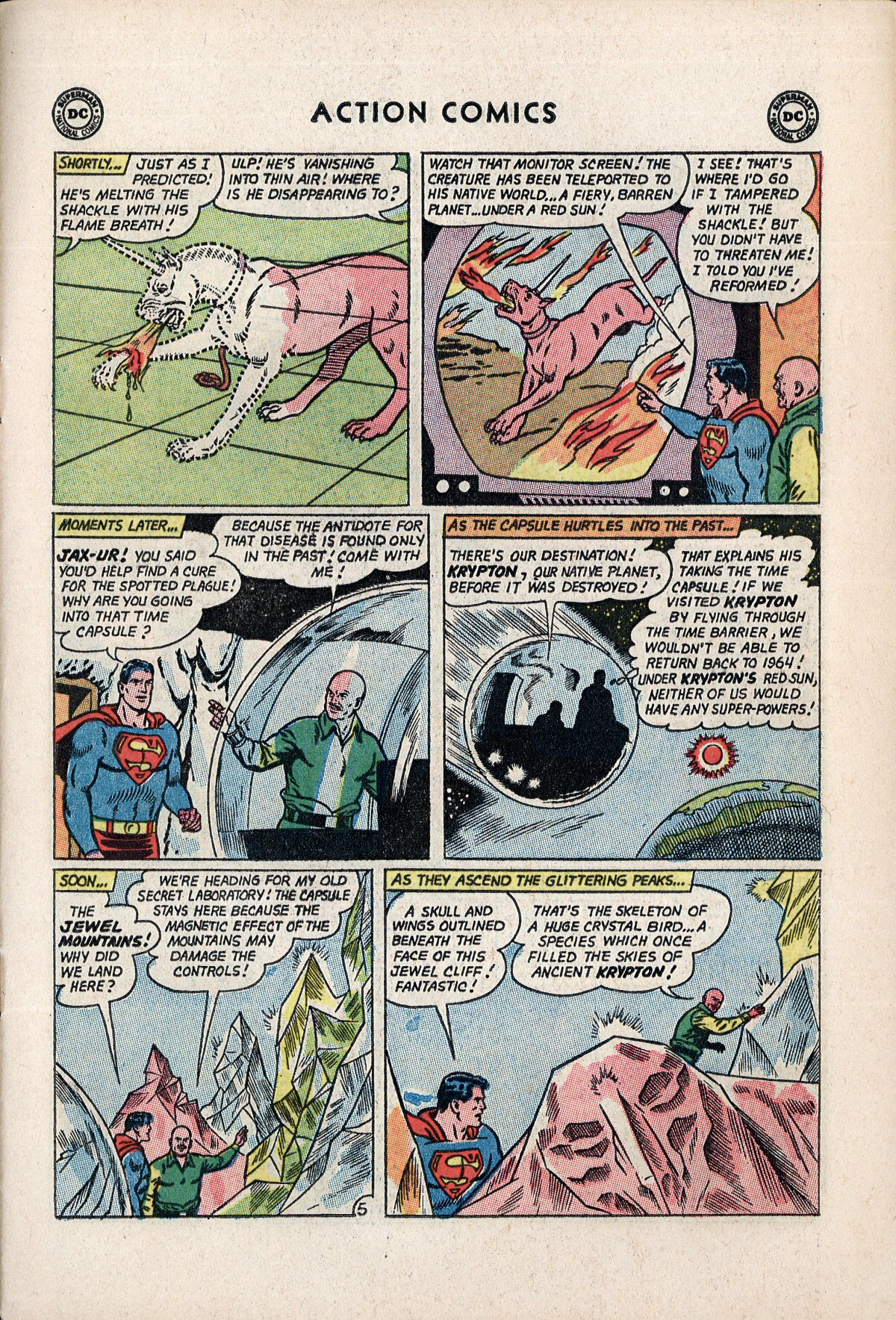 Read online Action Comics (1938) comic -  Issue #310 - 7