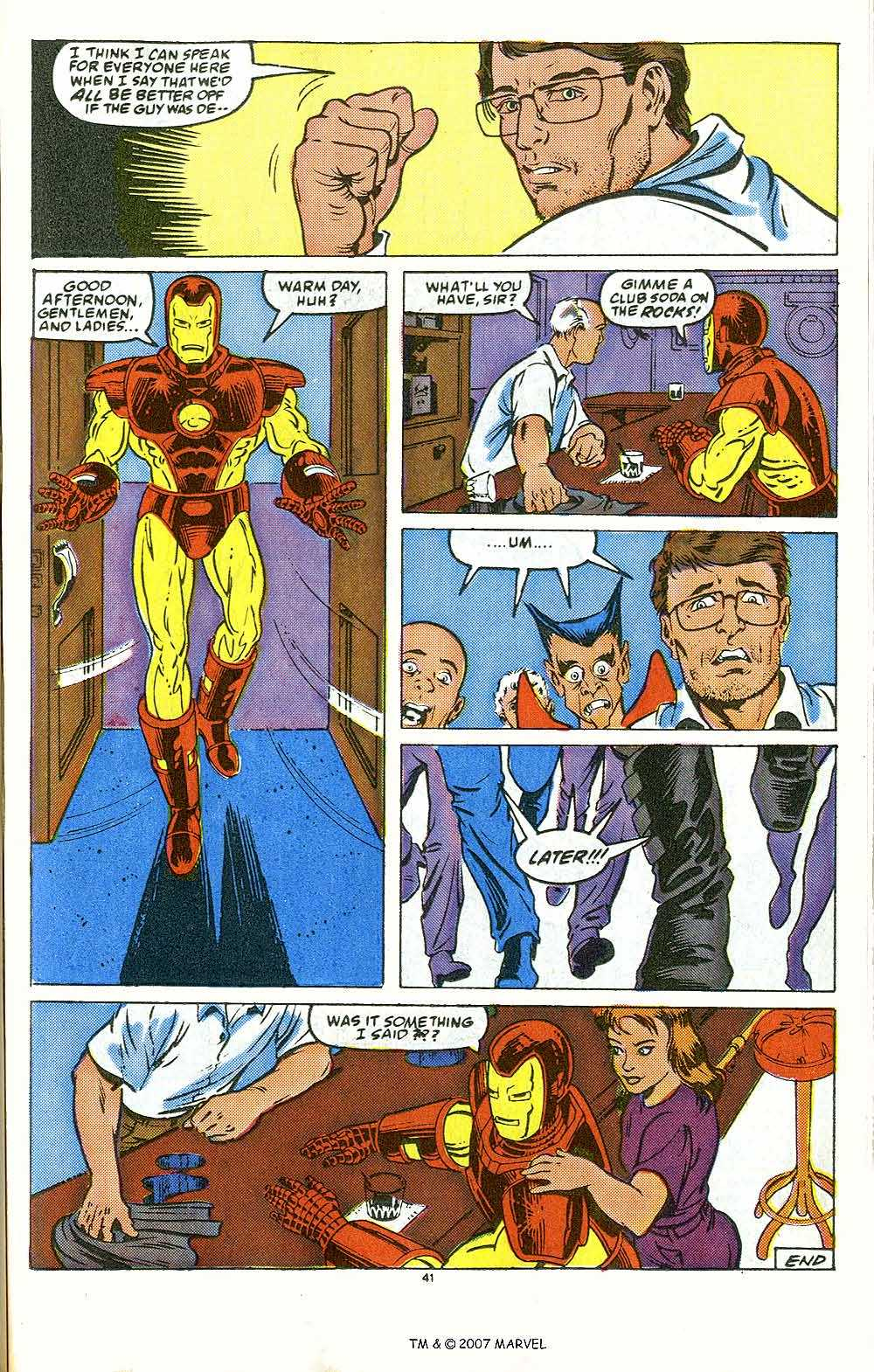 Iron Man Annual issue 10 - Page 43