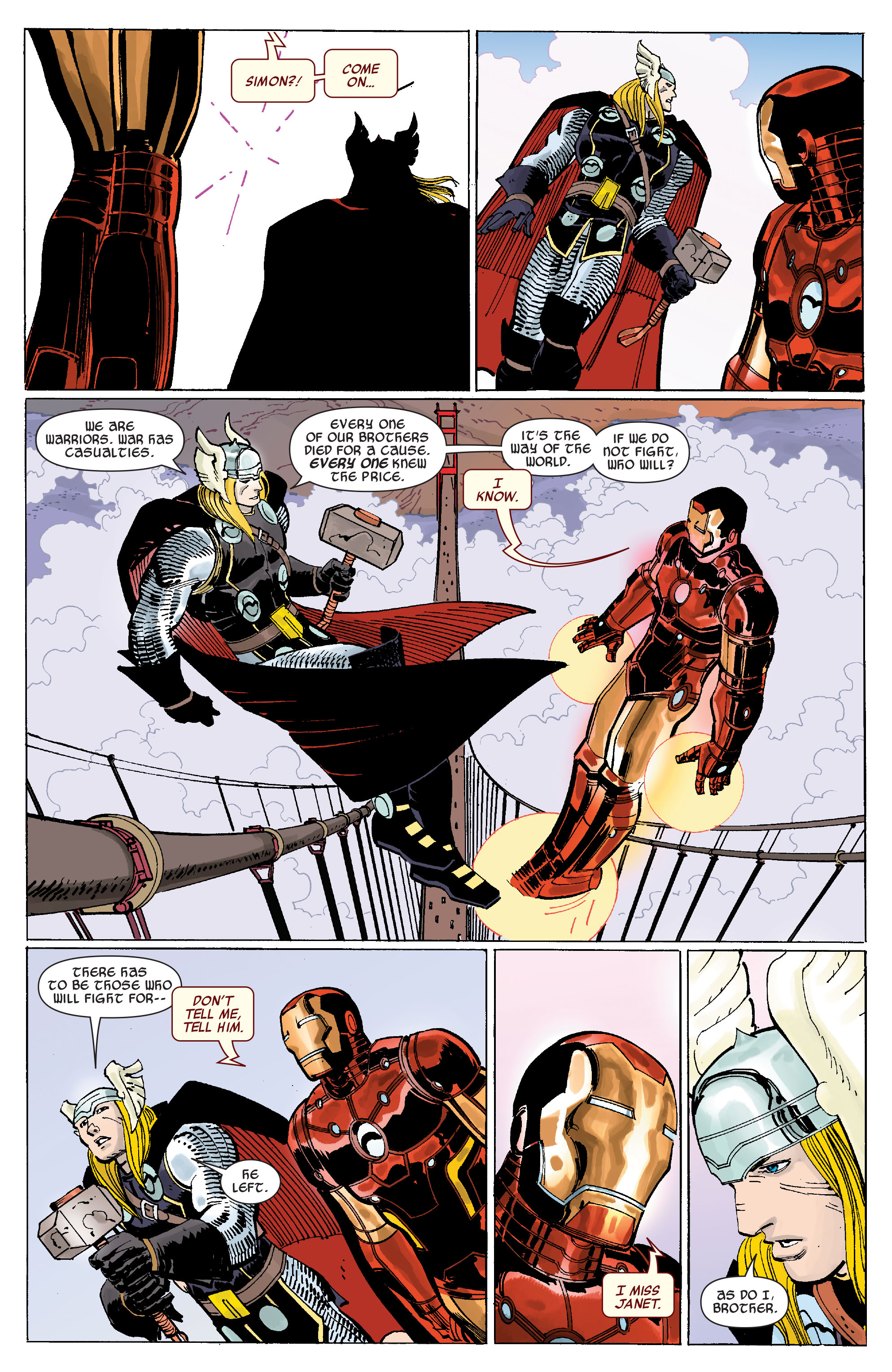 Read online Avengers (2010) comic -  Issue #7 - 14