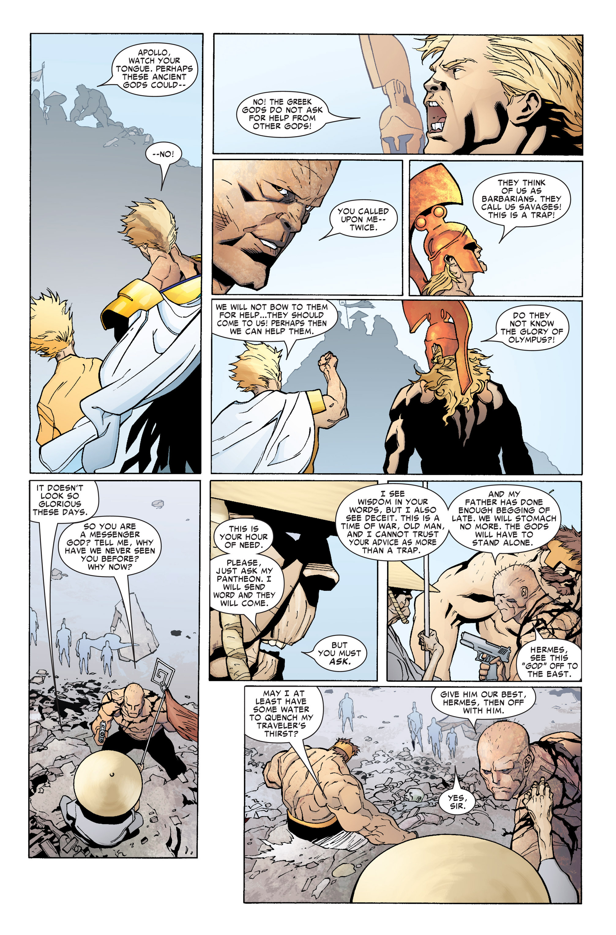 Read online Ares comic -  Issue #4 - 14