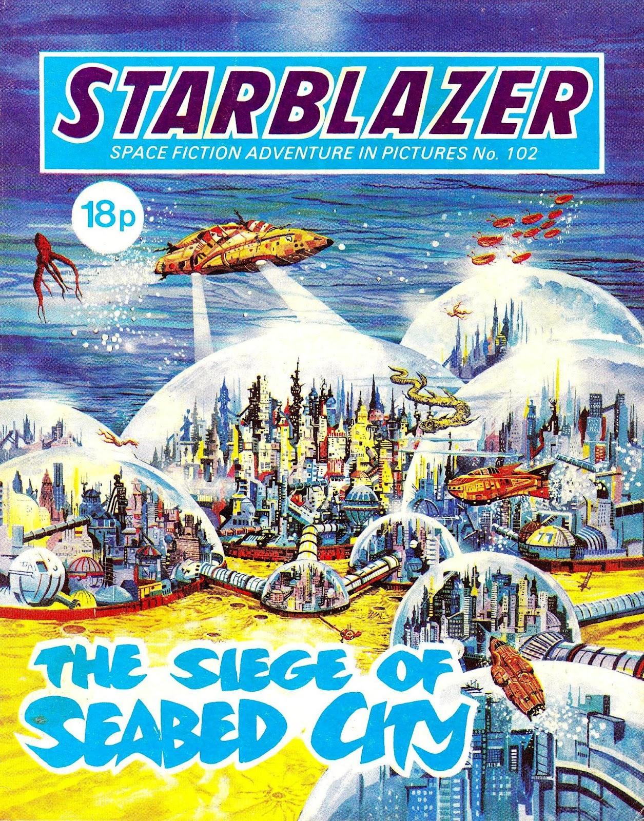 Starblazer issue 102 - Page 1