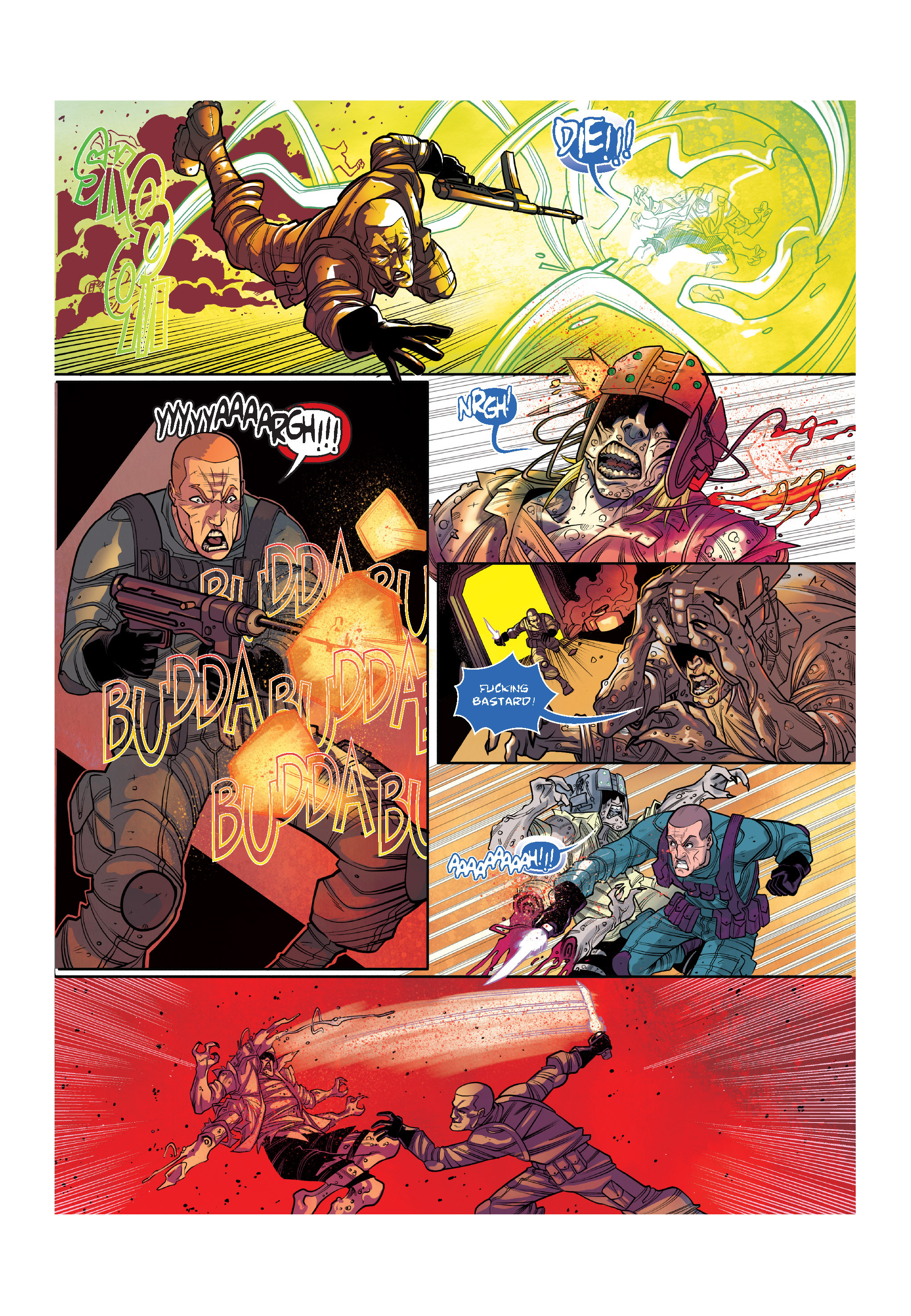 Read online The Shadow of a Terrible Thing comic -  Issue # TPB - 109