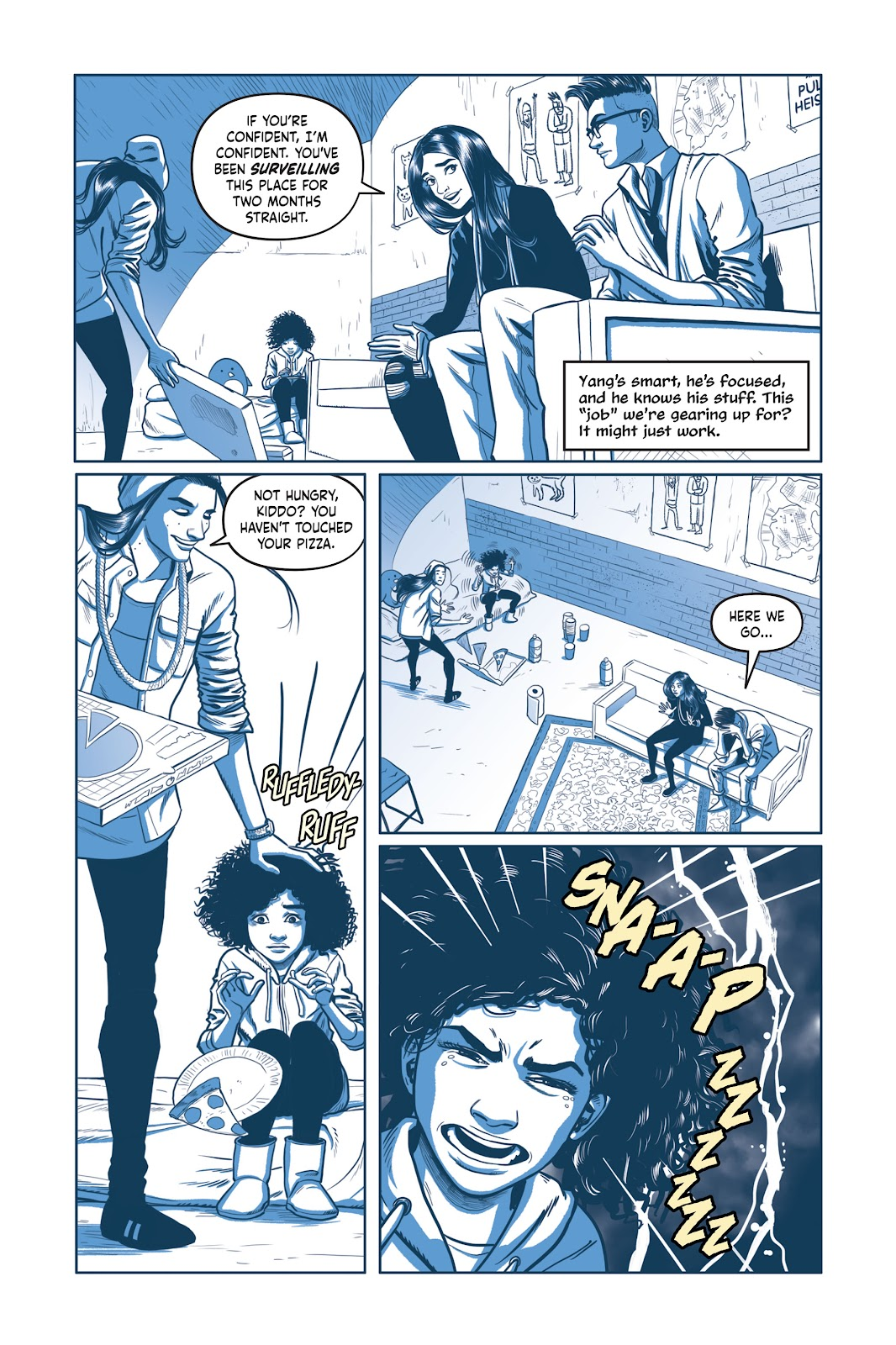 Read online Under the Moon: A Catwoman Tale comic -  Issue # TPB (Part 2) - 18