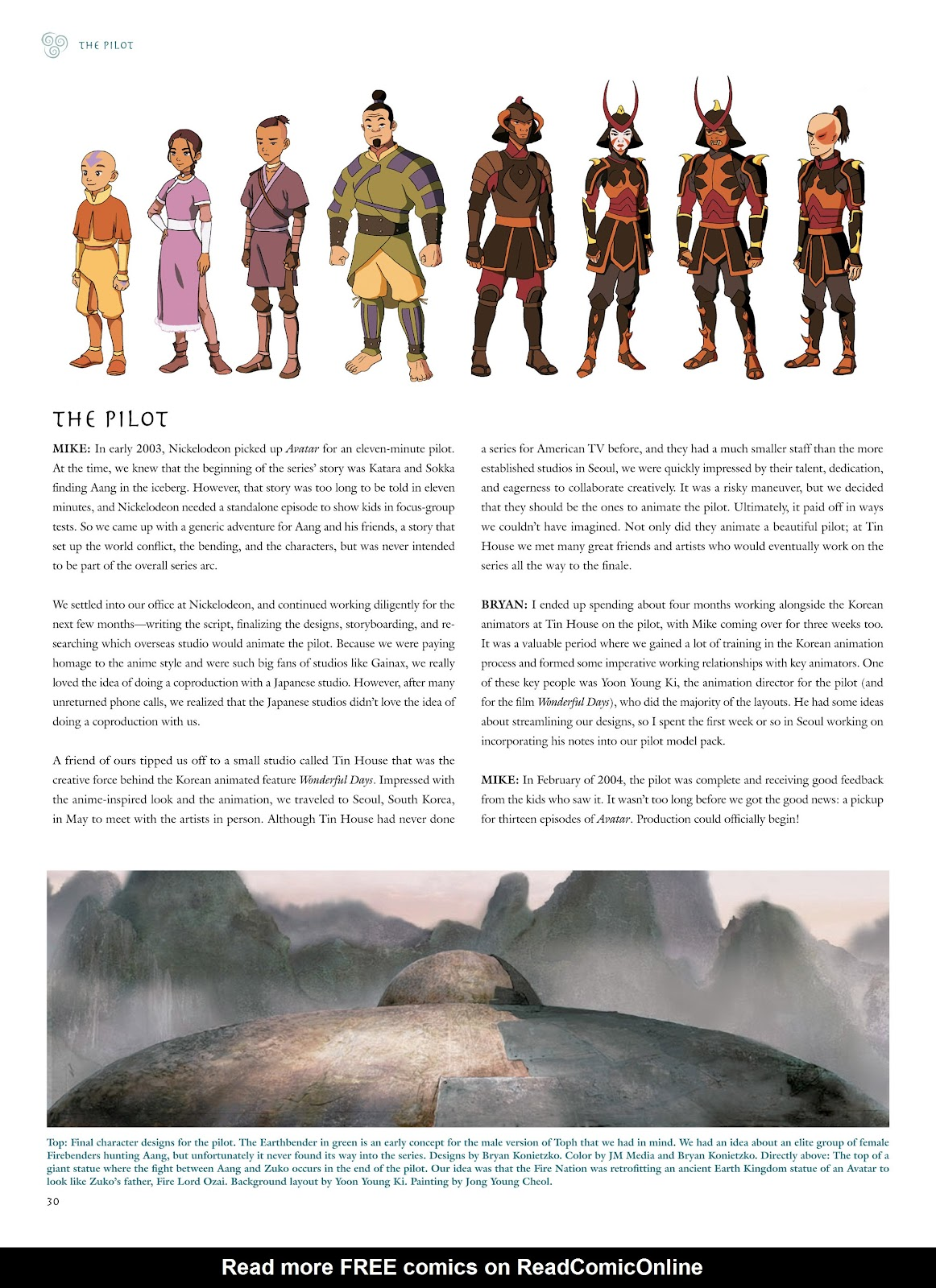 Read online Avatar: The Last Airbender - The Art of the Animated Series comic -  Issue # TPB (Part 1) - 33