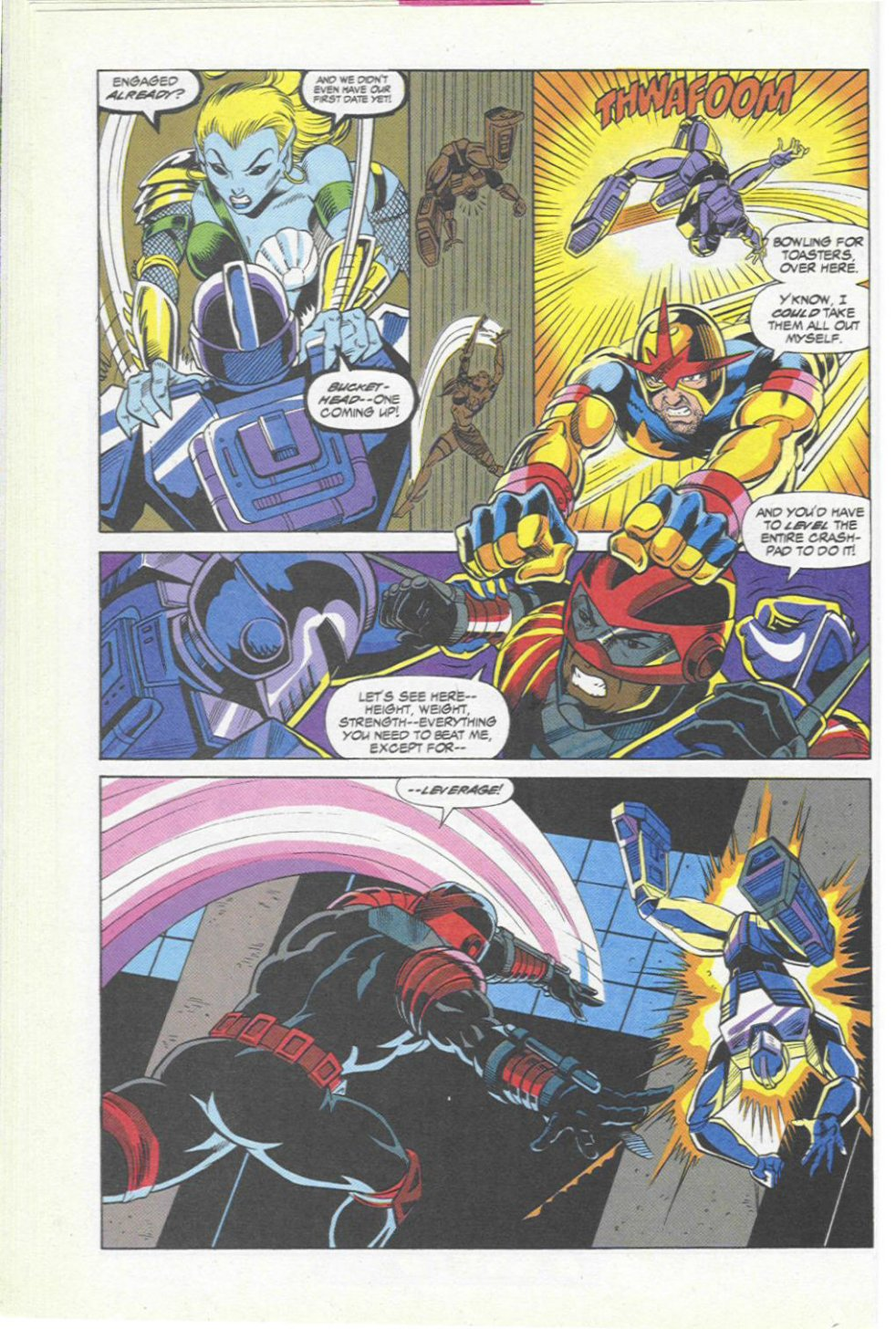 The New Warriors Issue #45 #49 - English 15
