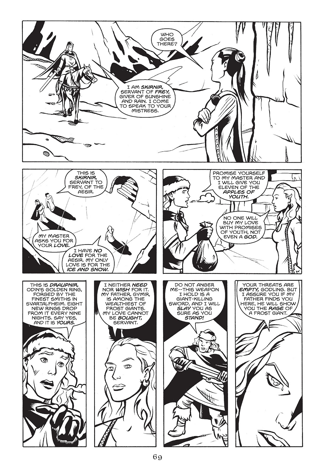 Read online Gods of Asgard comic -  Issue # TPB (Part 1) - 70