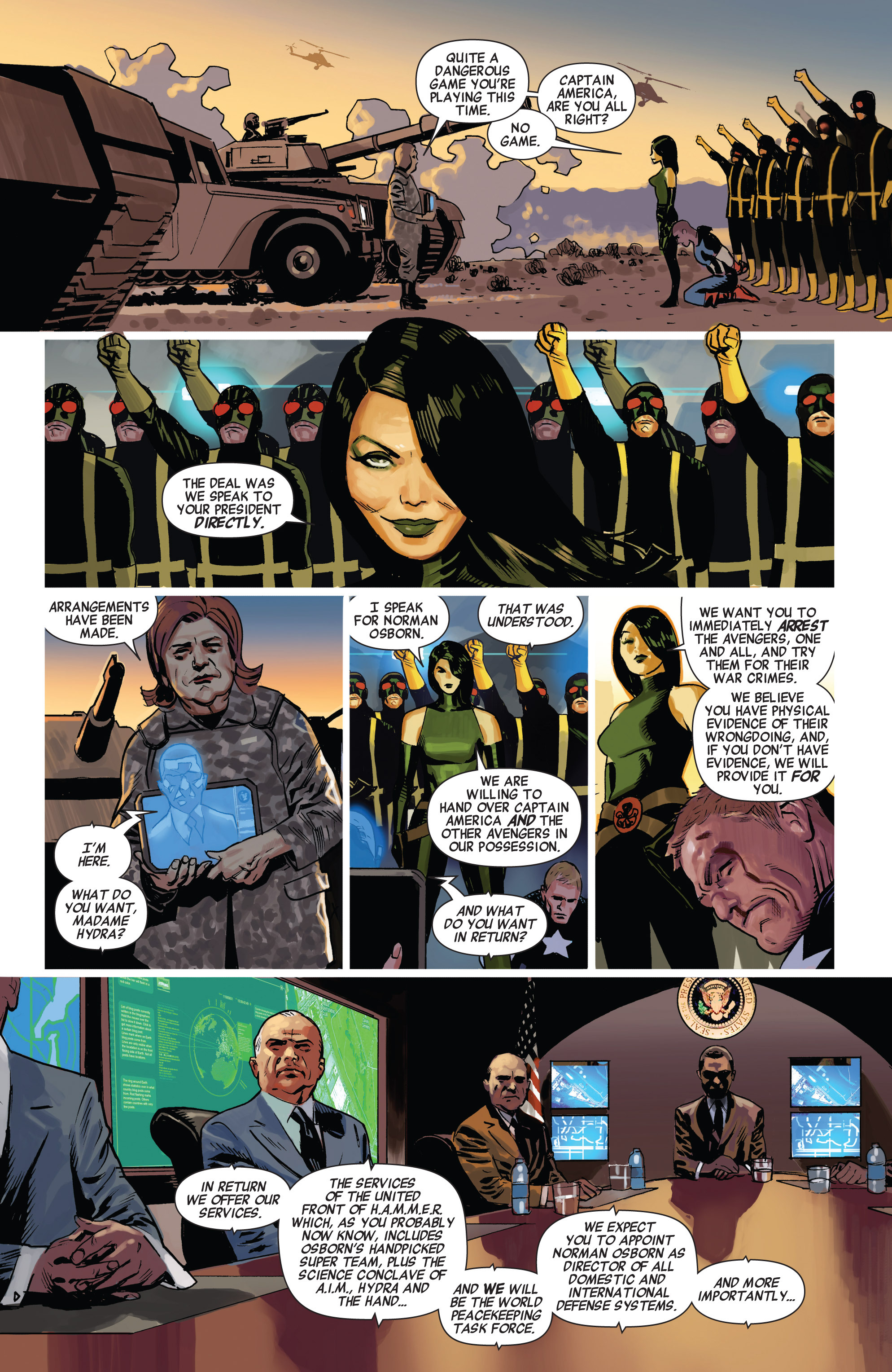 Read online Avengers (2010) comic -  Issue #23 - 4