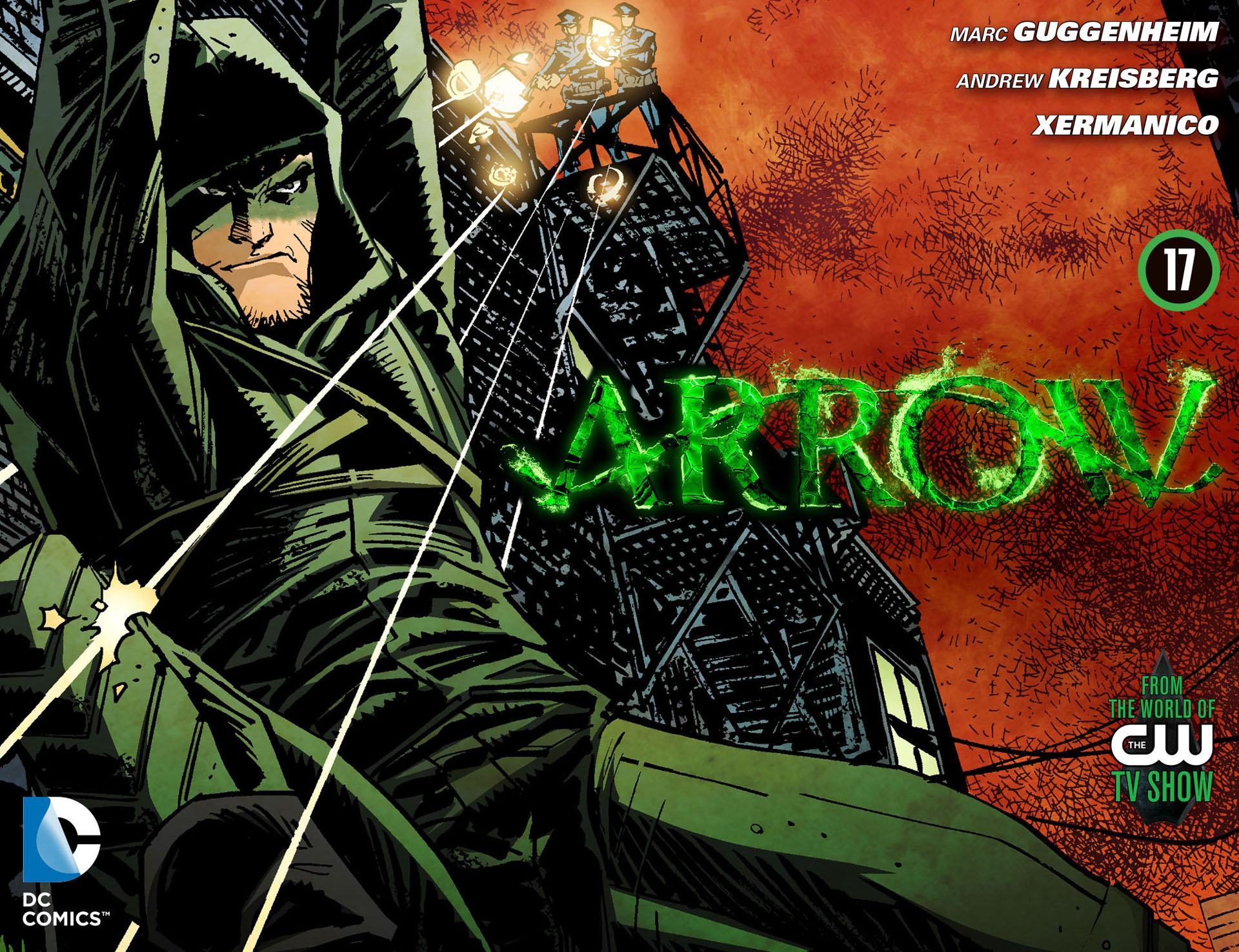 Read online Arrow [II] comic -  Issue #17 - 1