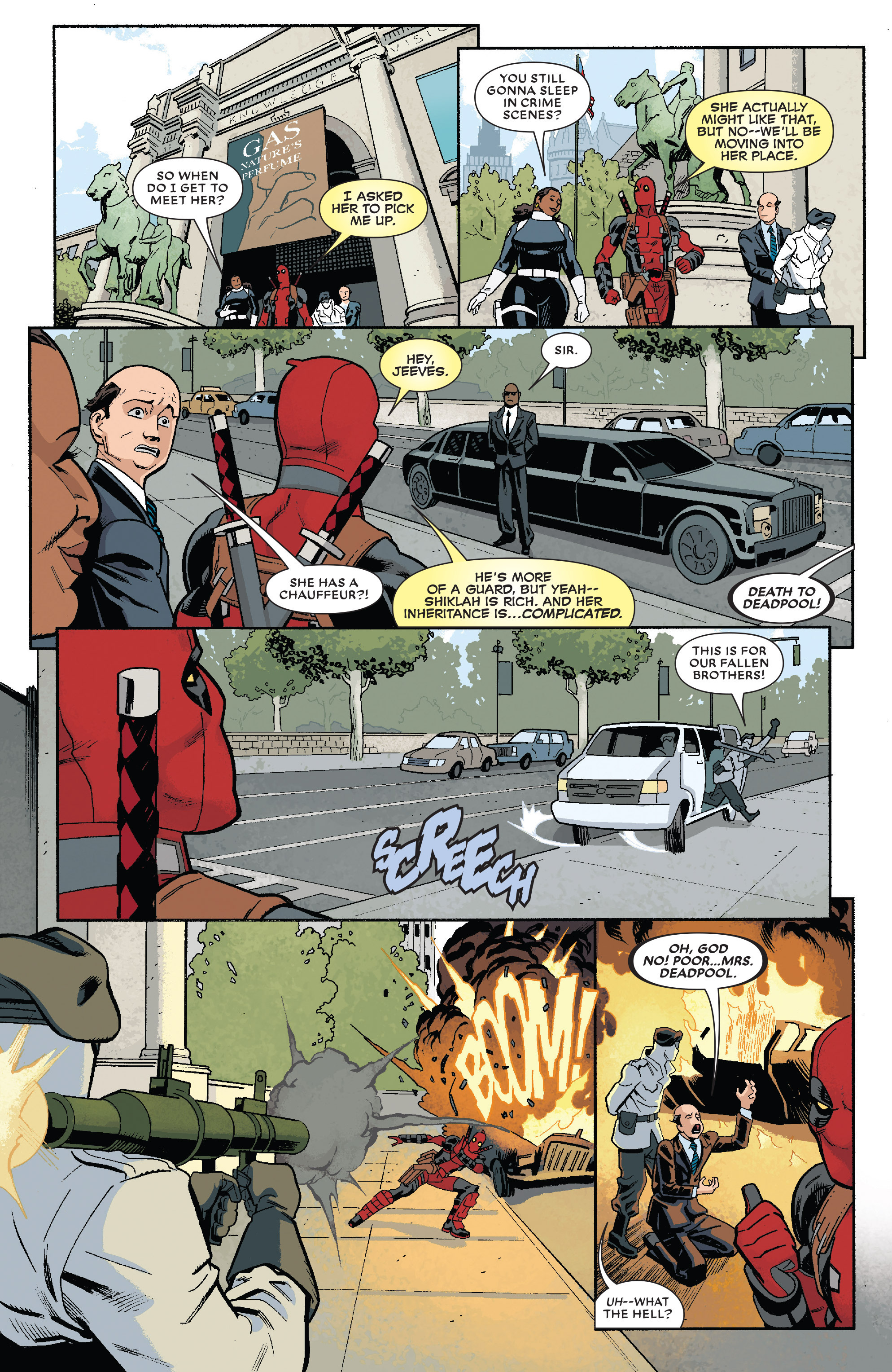 Read online True Believers: The Wedding of Deadpool comic -  Issue # Full - 6