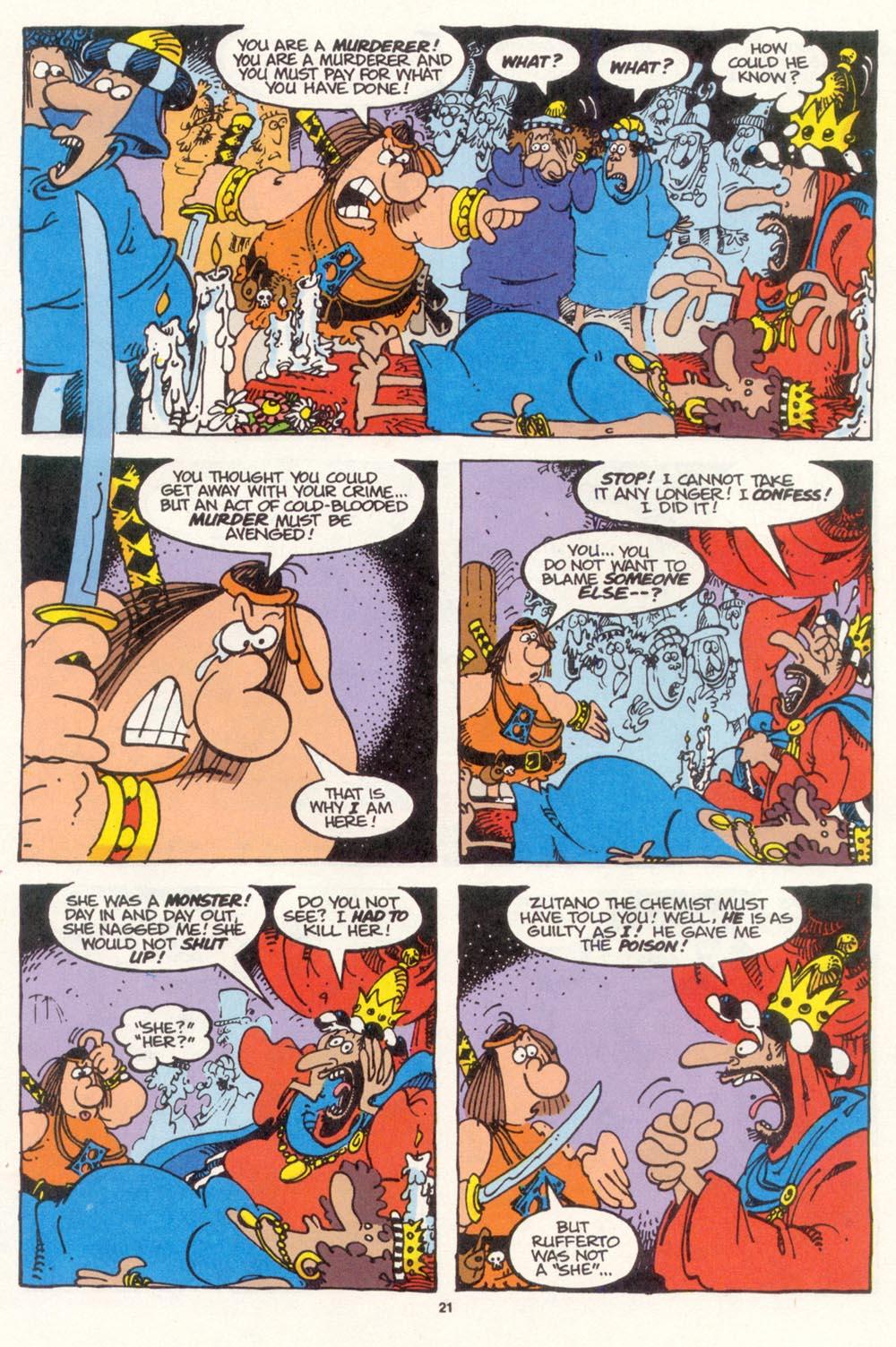 Read online Sergio Aragonés Groo the Wanderer comic -  Issue #112 - 23