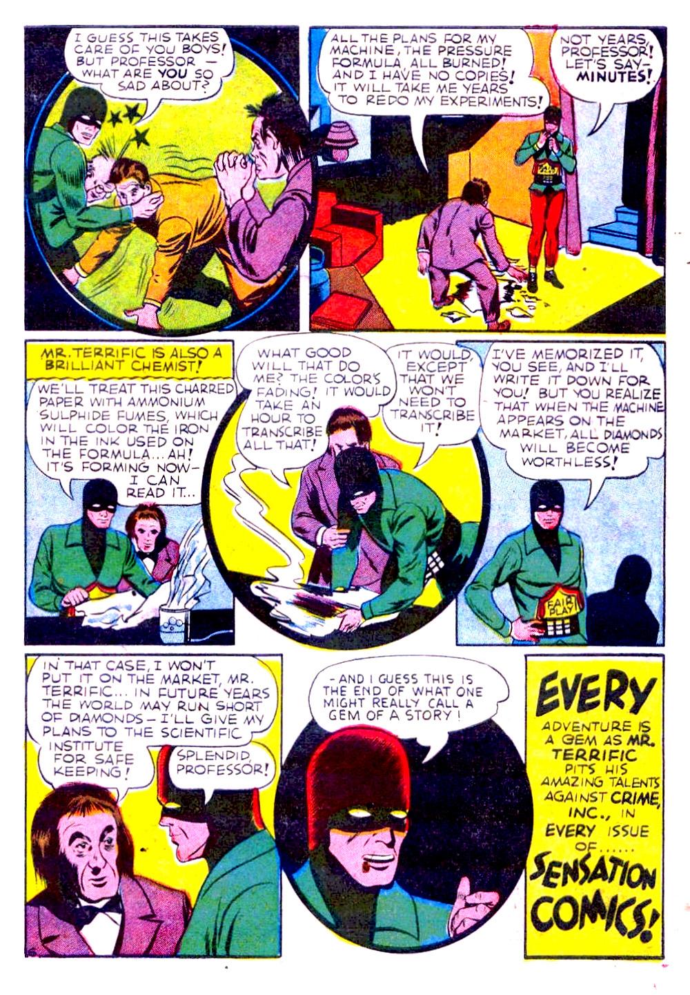 Read online Sensation (Mystery) Comics comic -  Issue #29 - 47