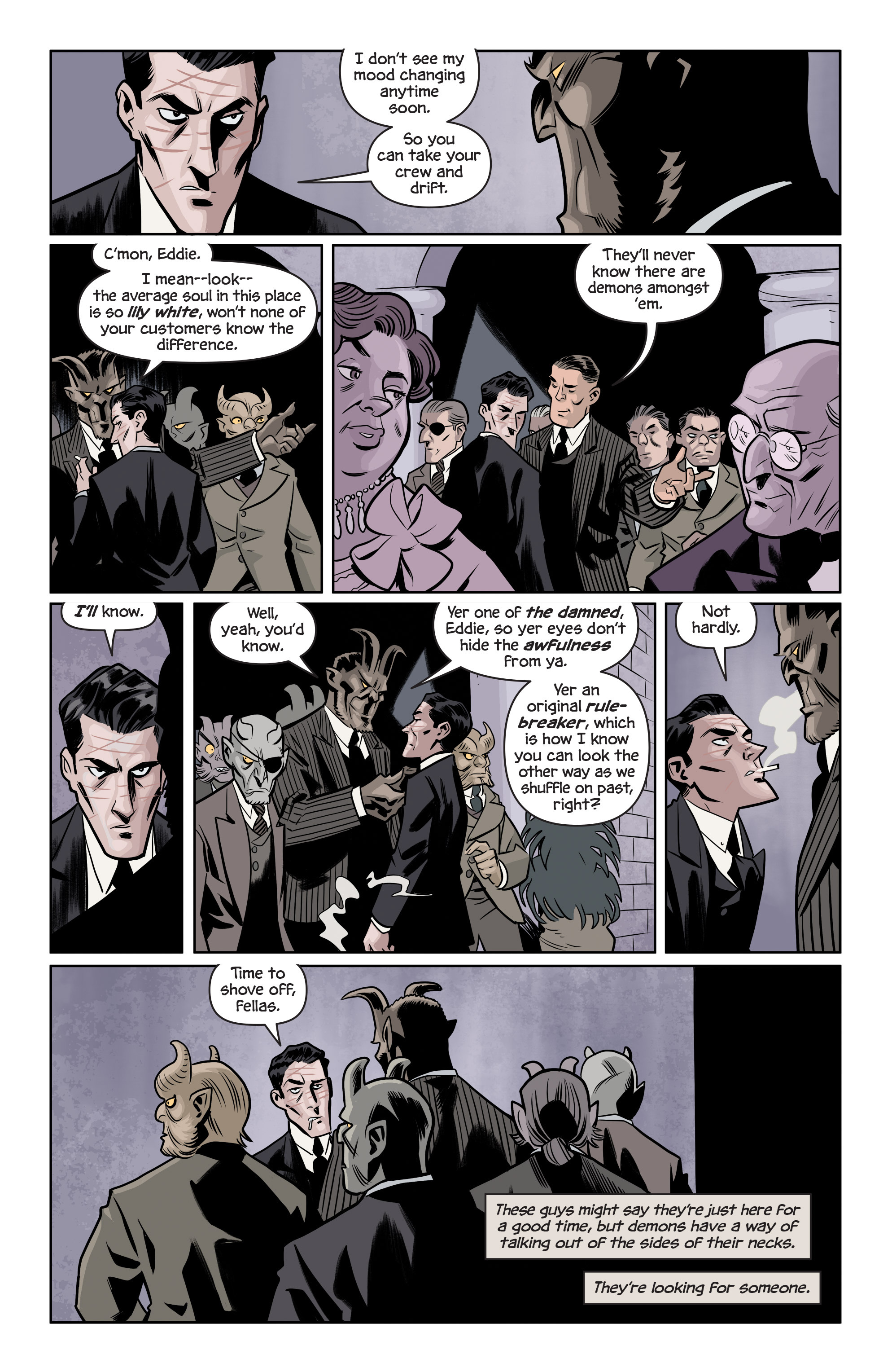 Read online The Damned comic -  Issue #1 - 8