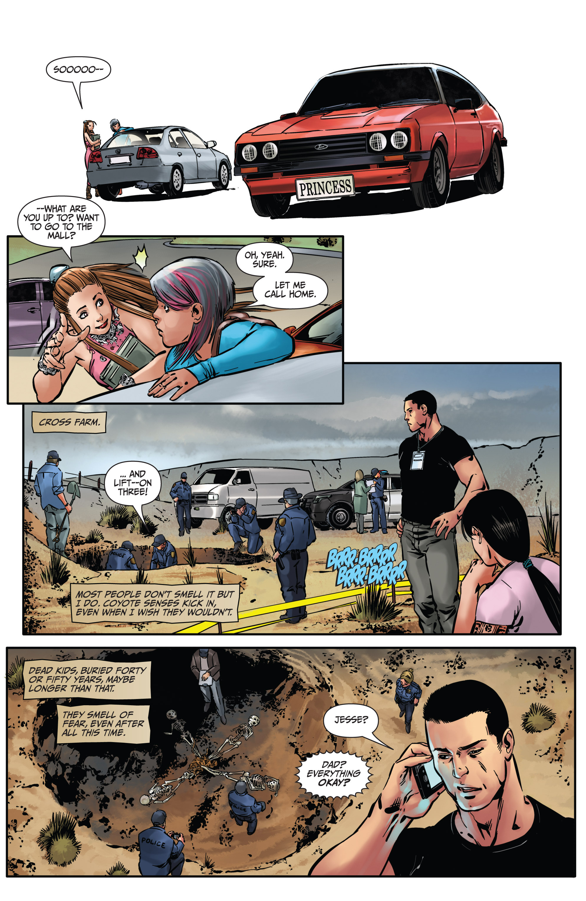 Read online Mercy Thompson comic -  Issue #4 - 9