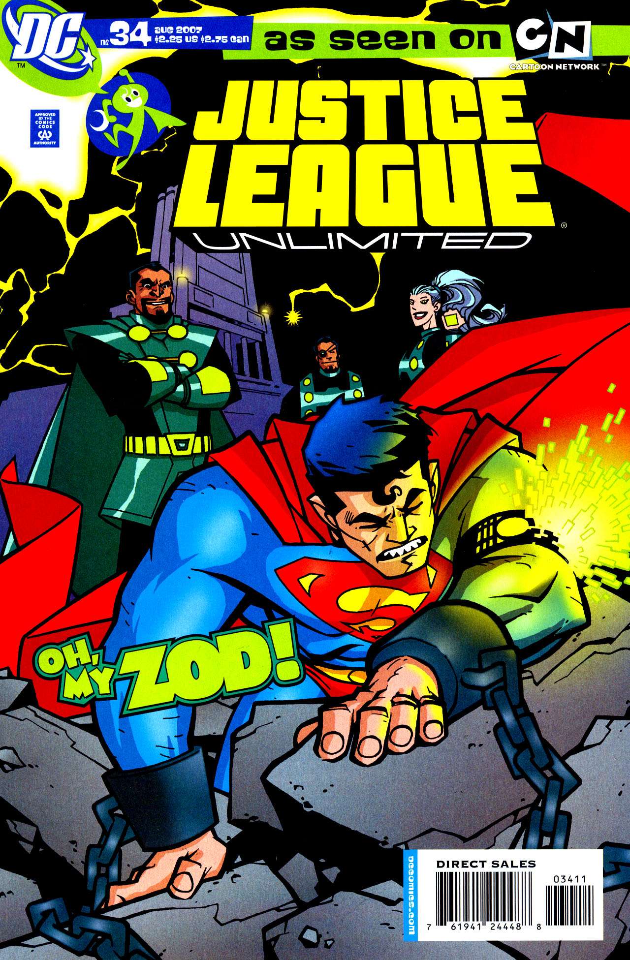 Justice League Unlimited 34 Page 1