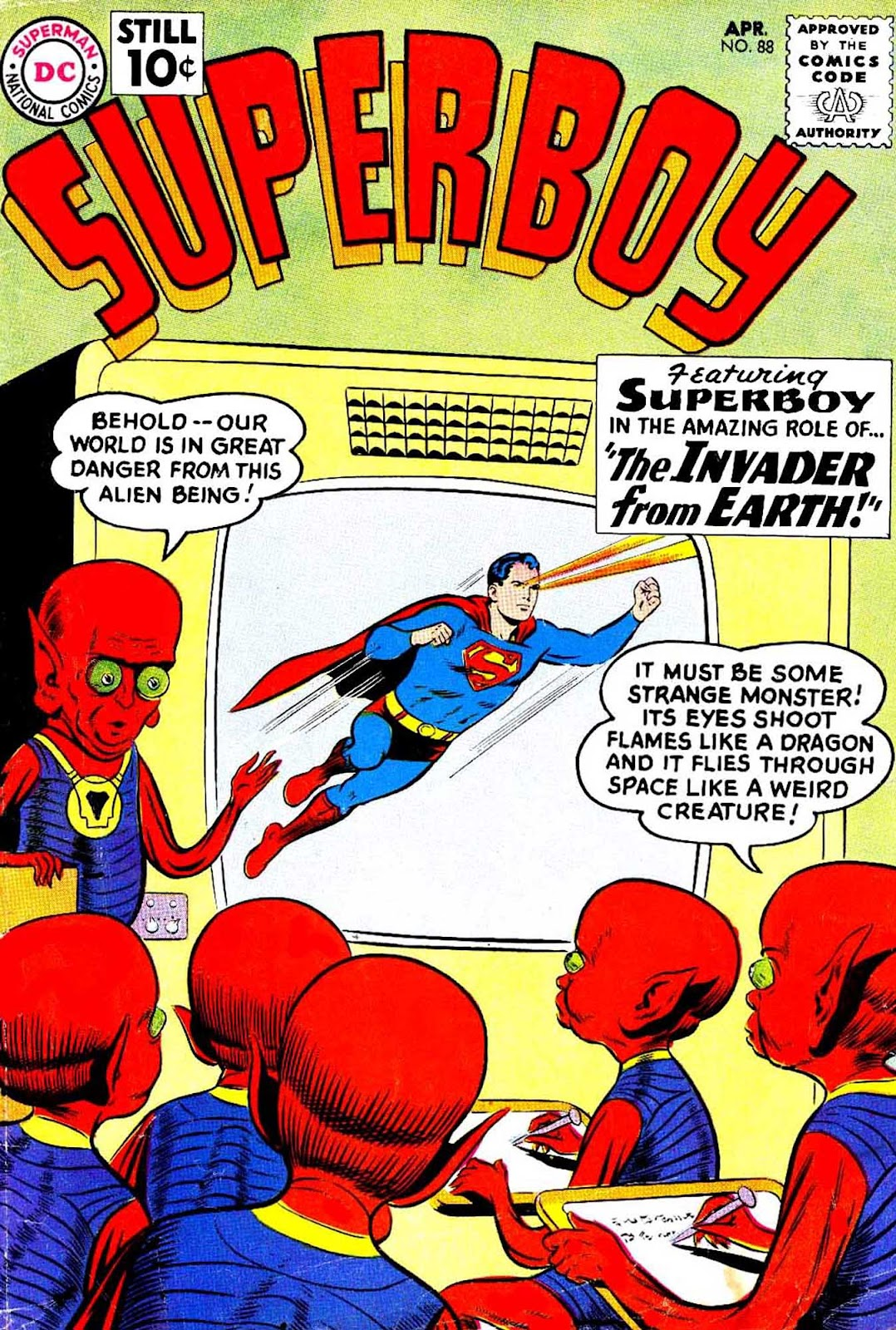 Superboy (1949) issue 88 - Page 1