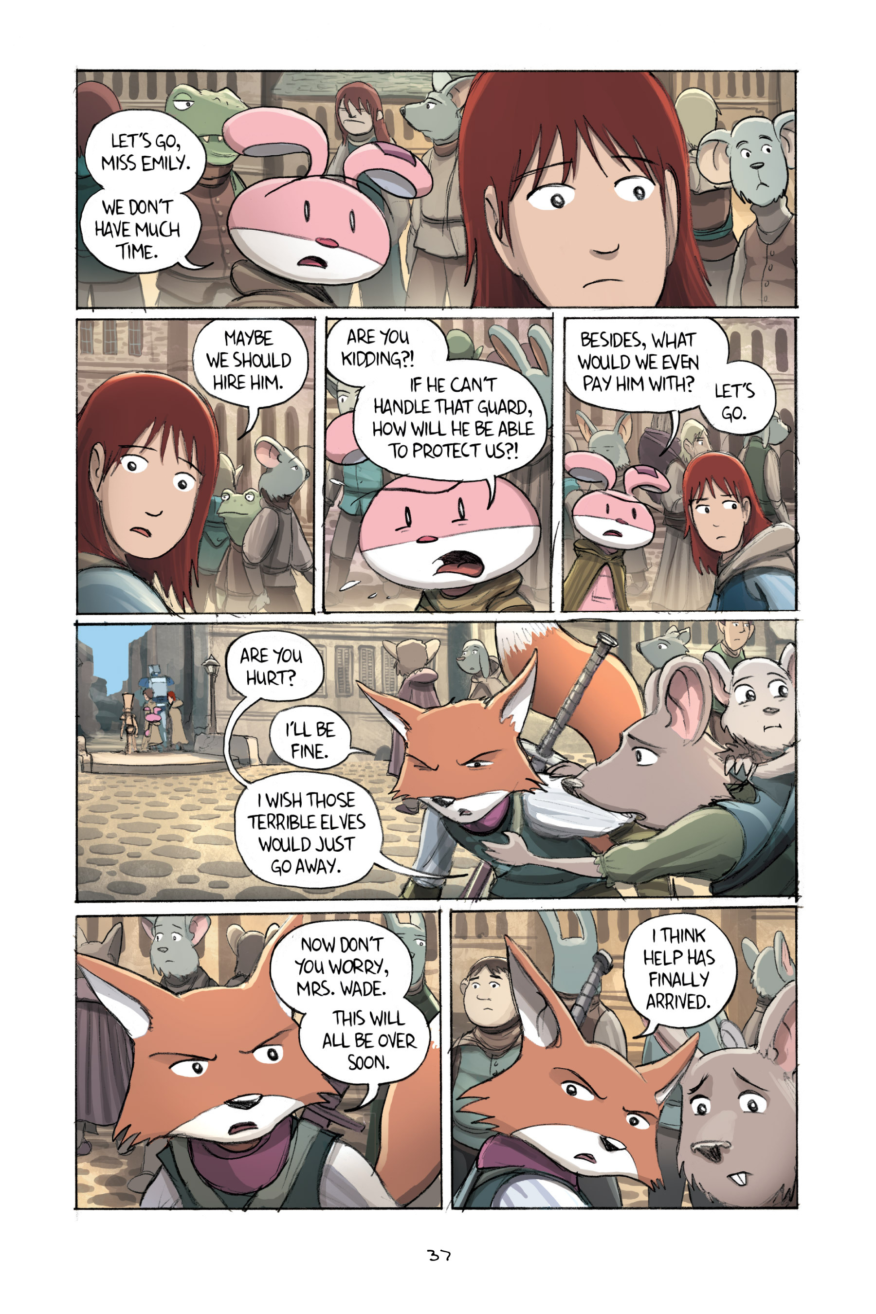 Read online Amulet comic -  Issue #2 - 39