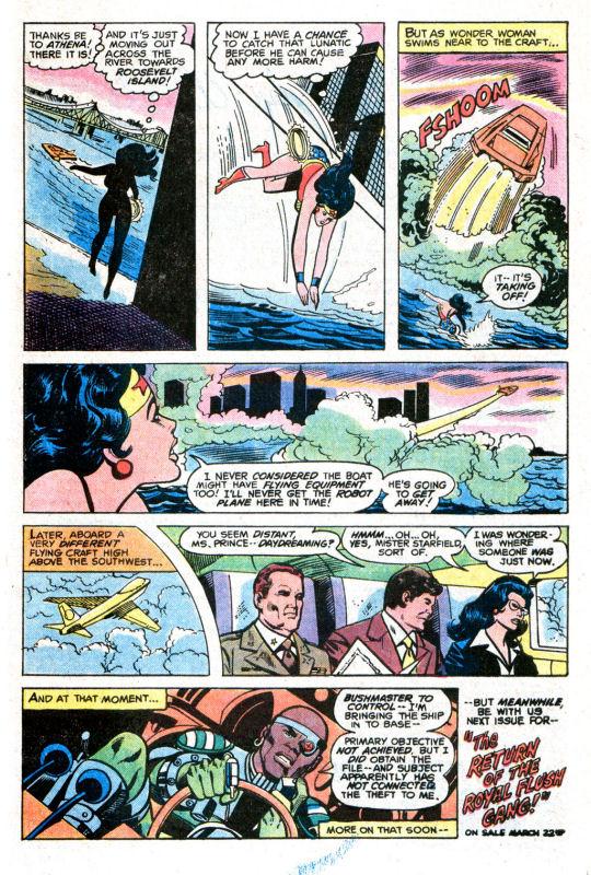 Read online Wonder Woman (1942) comic -  Issue #255 - 27