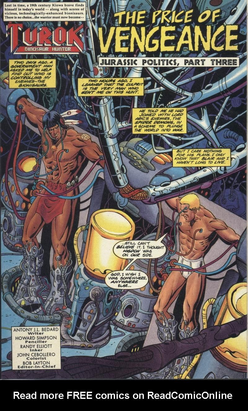 Read online Turok, Dinosaur Hunter (1993) comic -  Issue #19 - 3