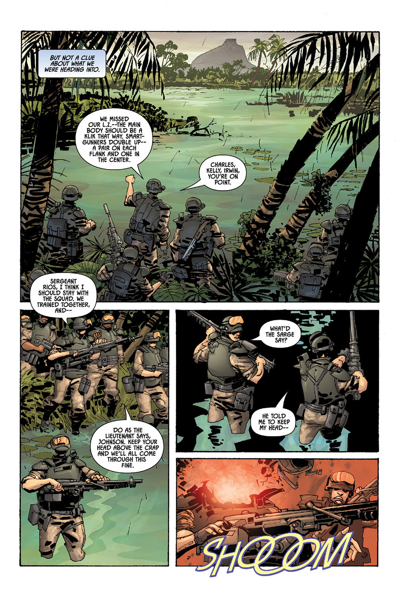 Read online Aliens vs. Predator: Three World War comic -  Issue #5 - 18