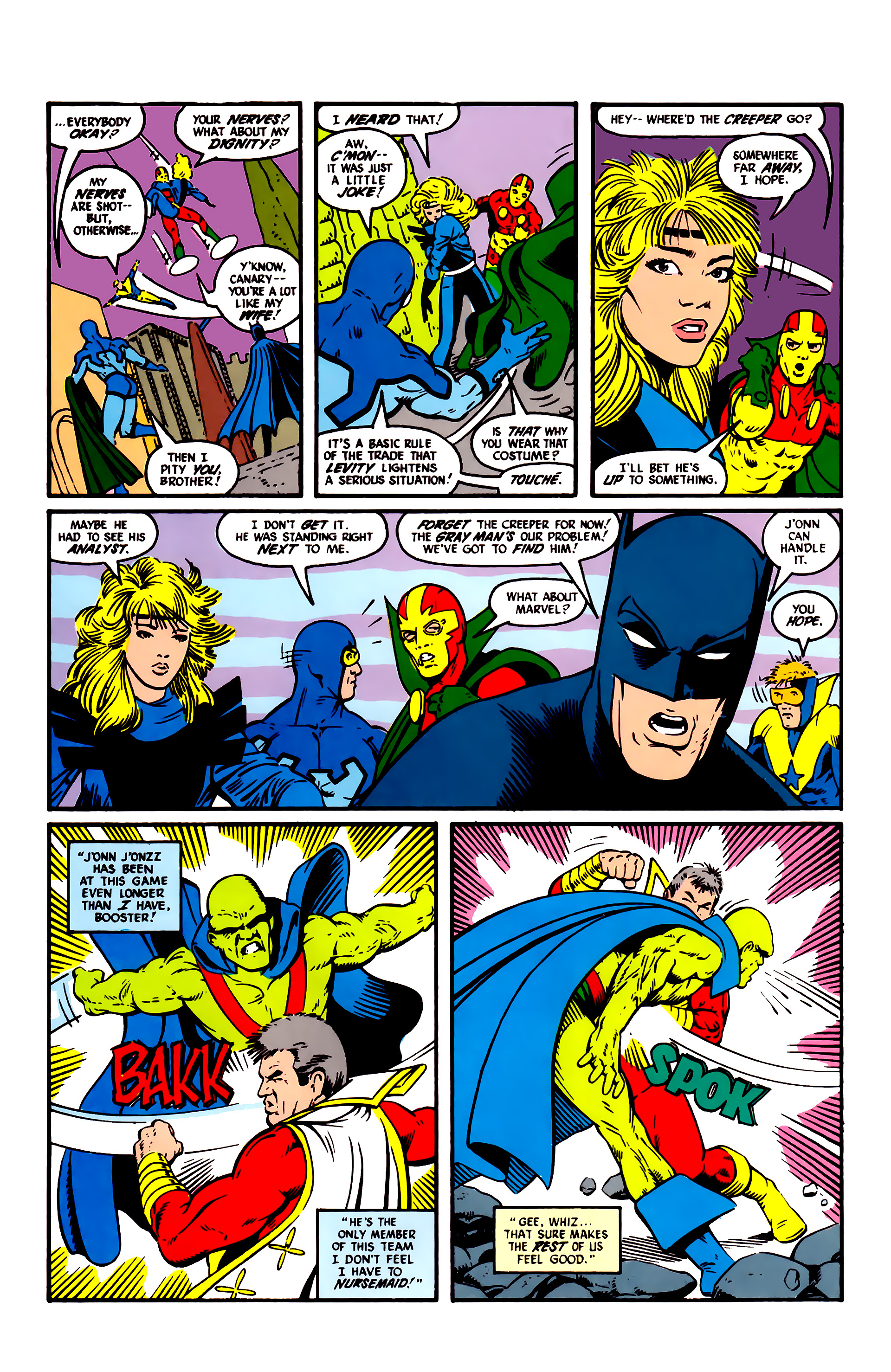 Read online Justice League (1987) comic -  Issue #6 - 11