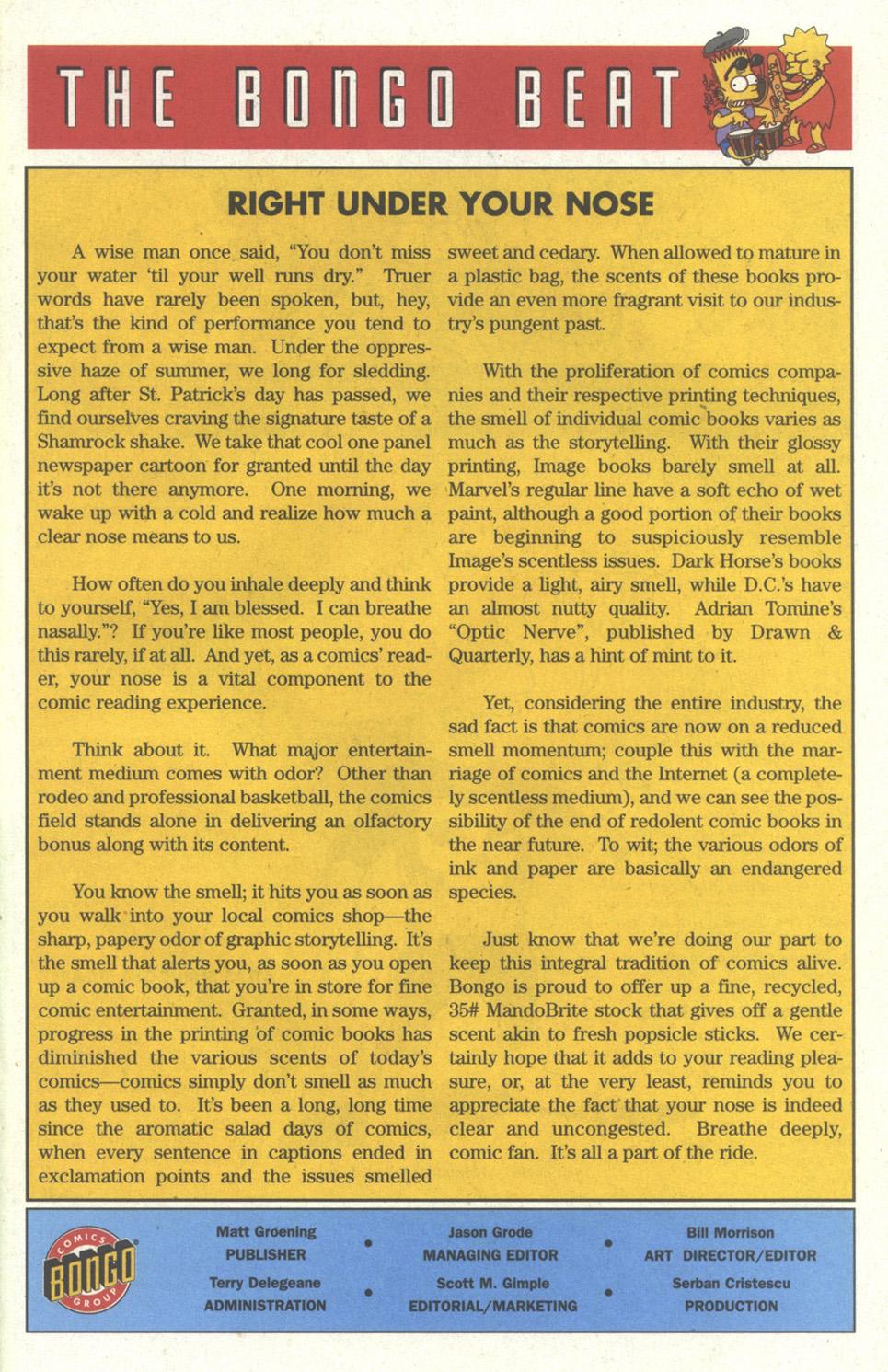 Read online Simpsons Comics comic -  Issue #26 - 28