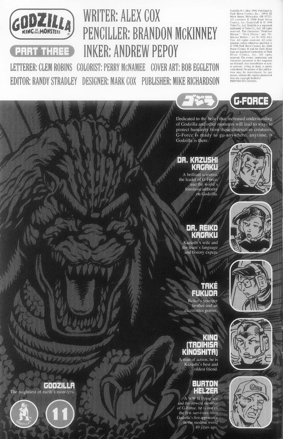 Godzilla (1995) Issue #11 #12 - English 3
