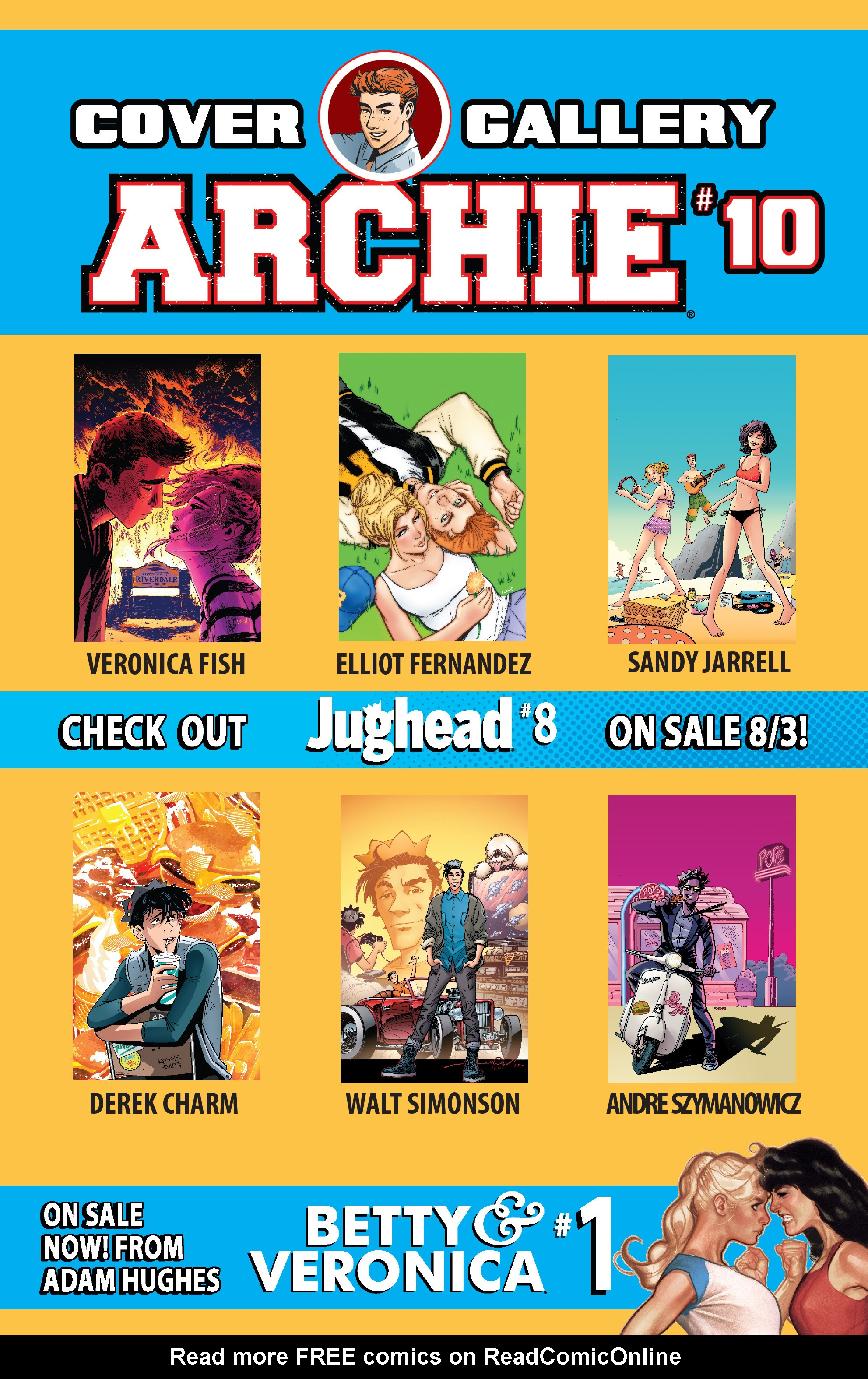 Read online Archie (2015) comic -  Issue #10 - 32