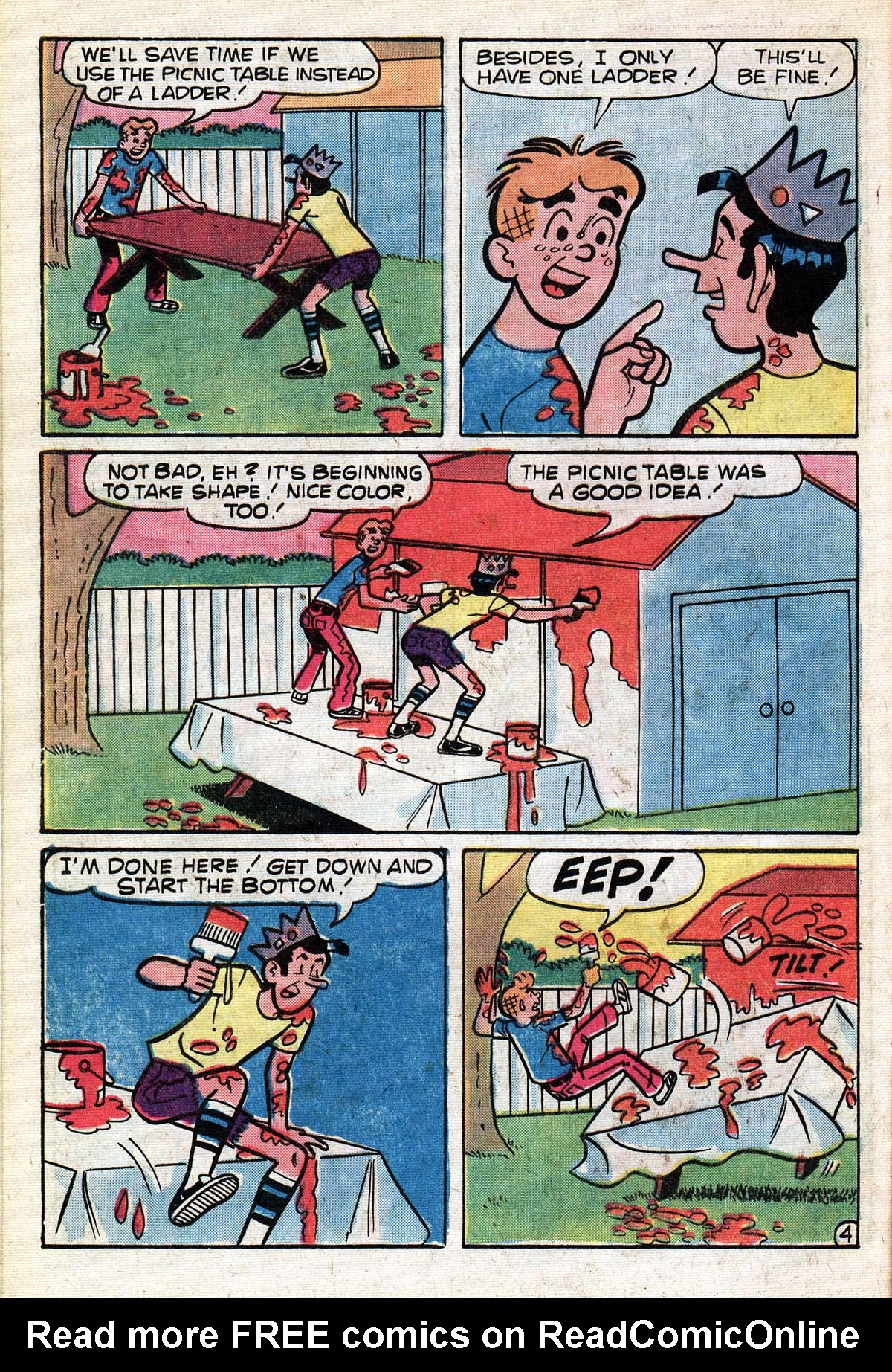Read online Archie (1960) comic -  Issue #267 - 16