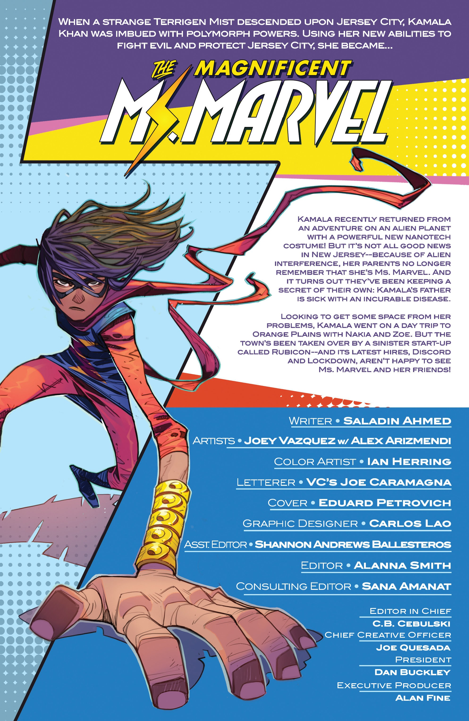 Magnificent Ms. Marvel 8 Page 2