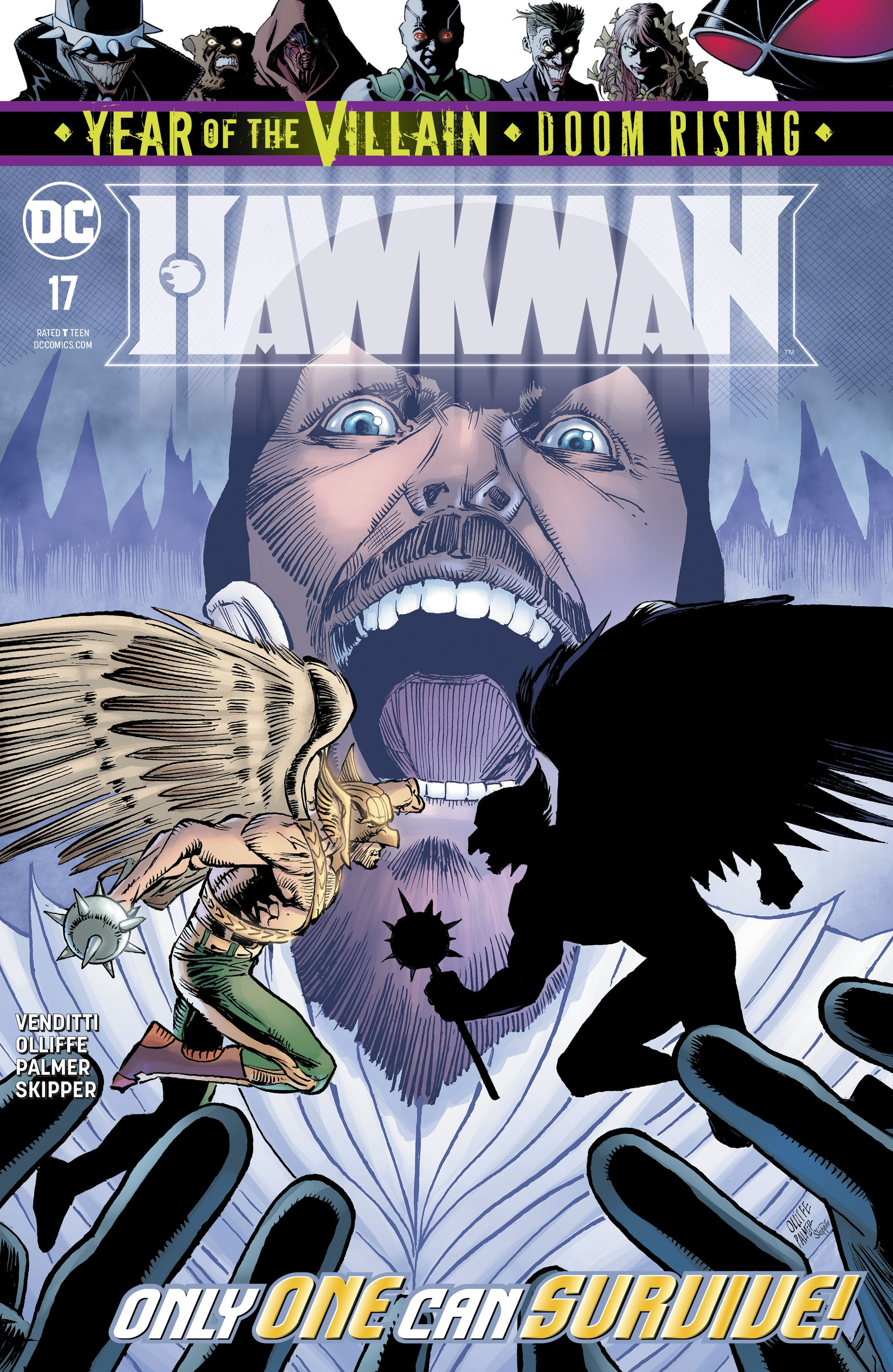Hawkman (2018) issue 17 - Page 1