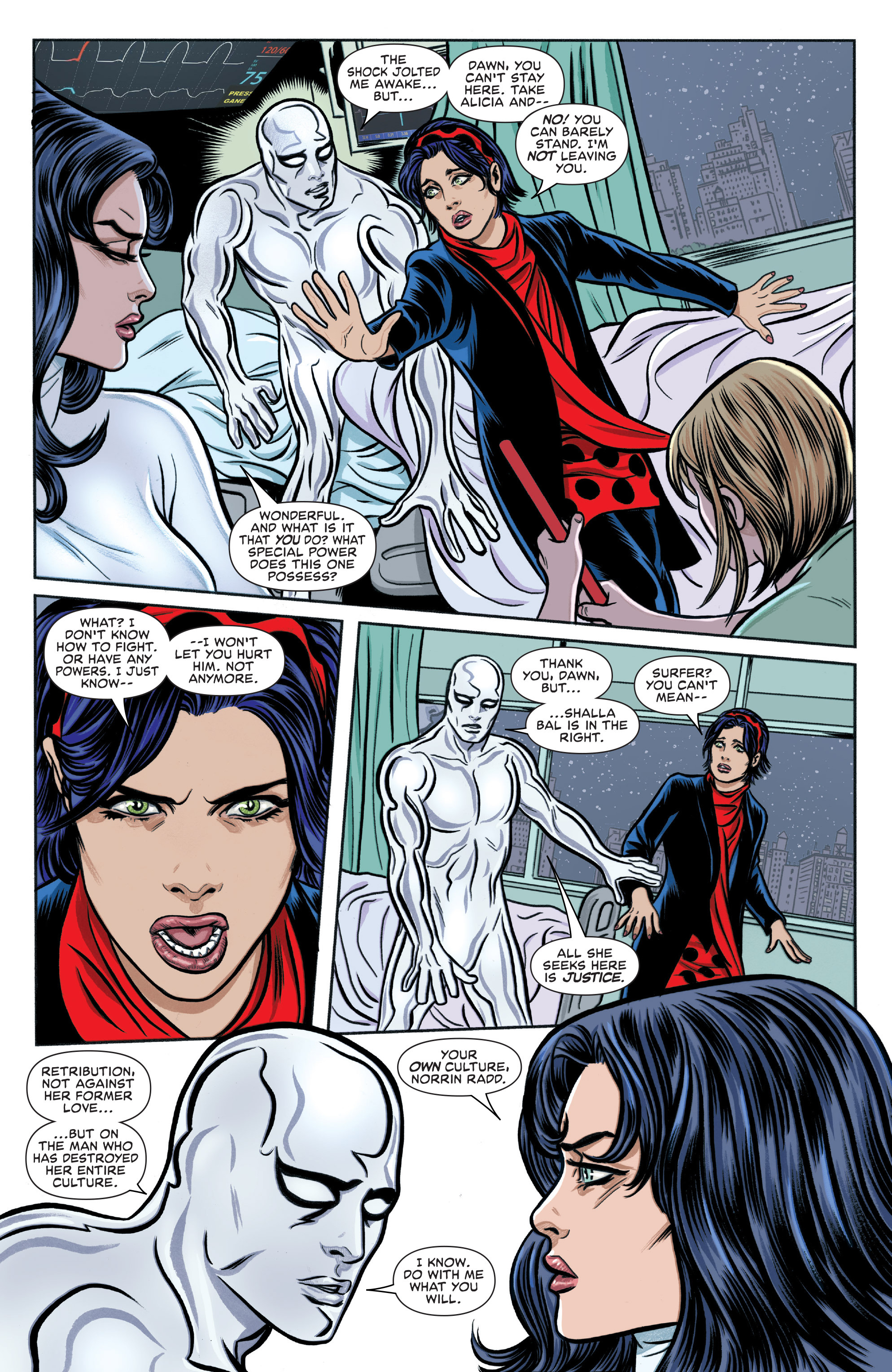 Read online Silver Surfer (2016) comic -  Issue #4 - 13