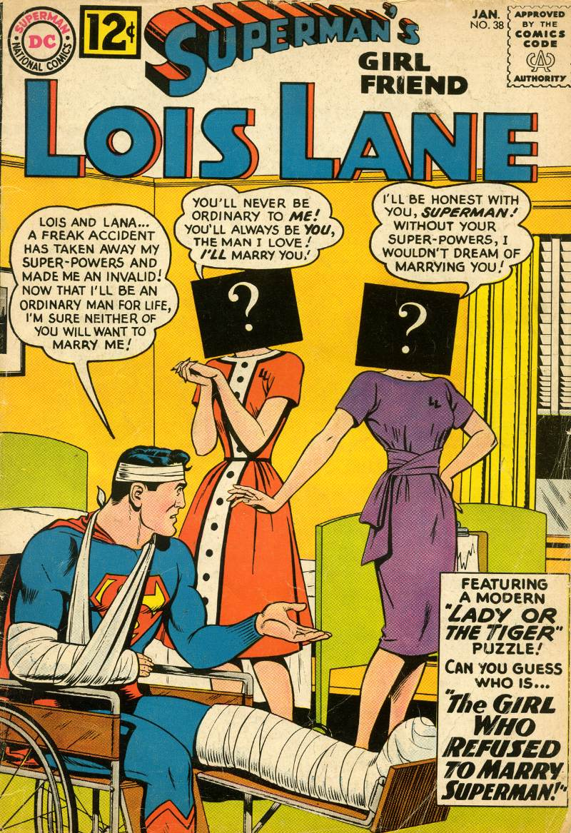Supermans Girl Friend, Lois Lane 38 Page 1