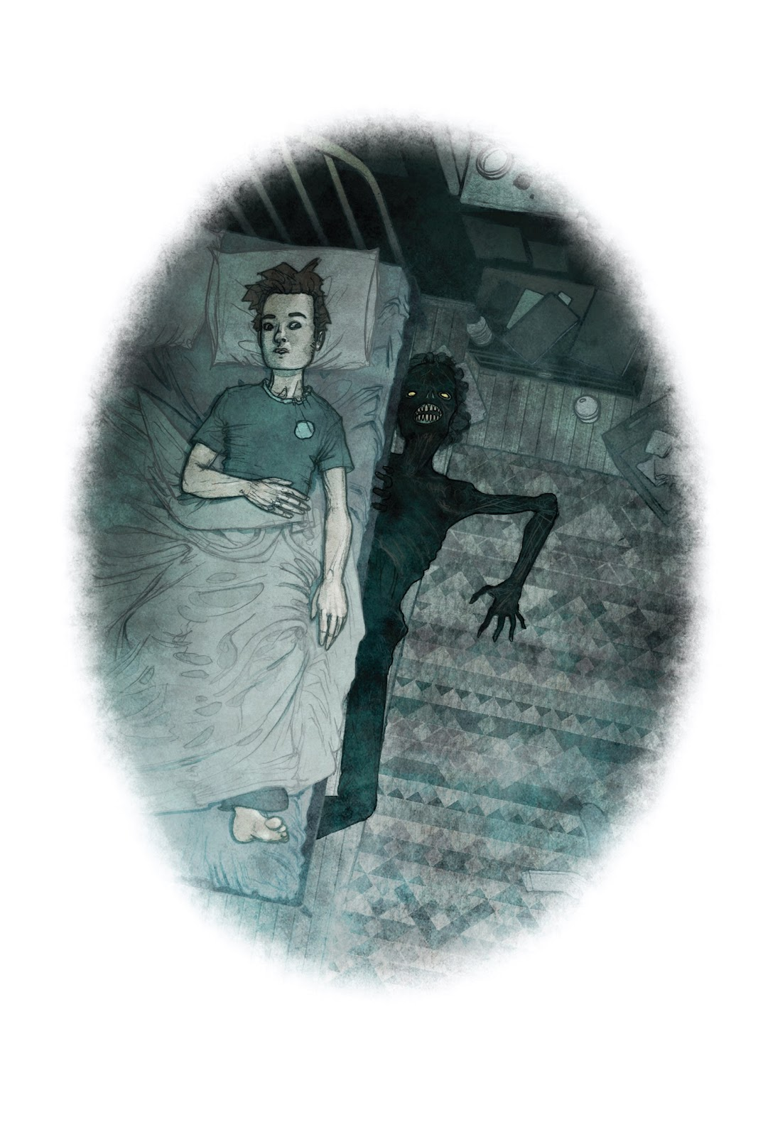 Read online Behind You: One-Shot Horror Stories comic -  Issue # TPB (Part 1) - 38