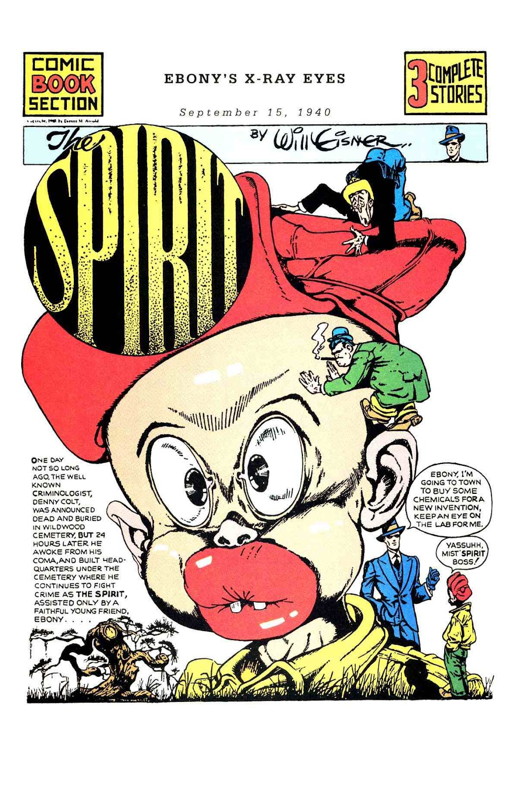 Read online Will Eisner's The Spirit Archives comic -  Issue # TPB 1 (Part 2) - 7