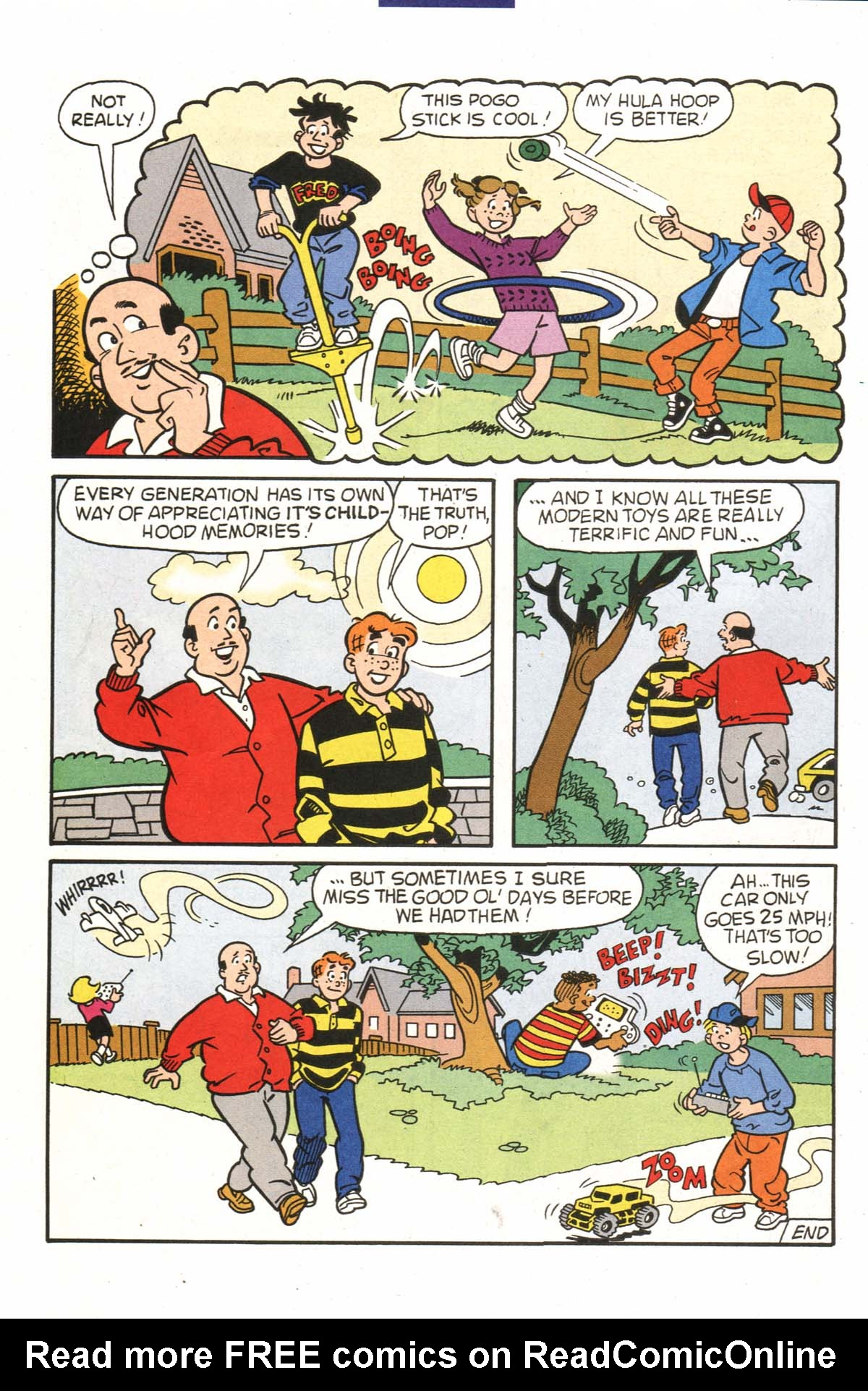 Read online Archie (1960) comic -  Issue #523 - 20