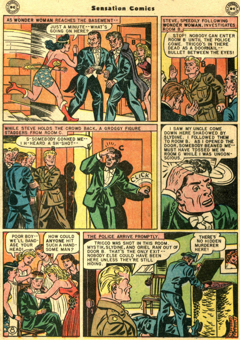 Read online Sensation (Mystery) Comics comic -  Issue #69 - 12
