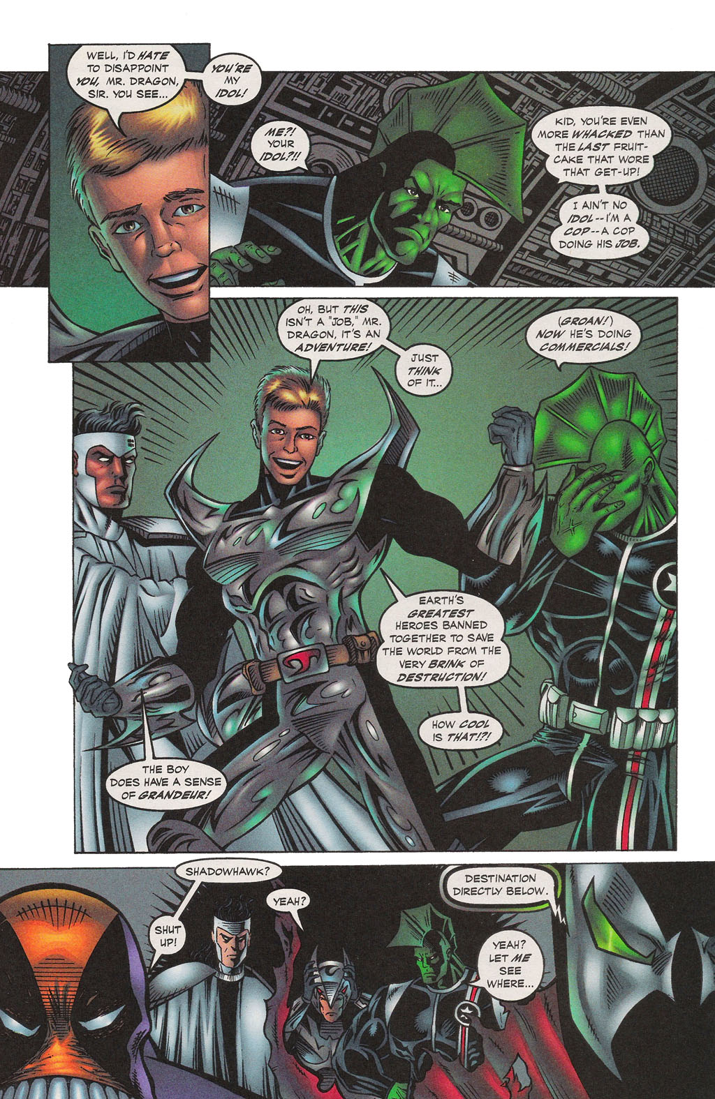 Read online Altered Image comic -  Issue #1 - 19