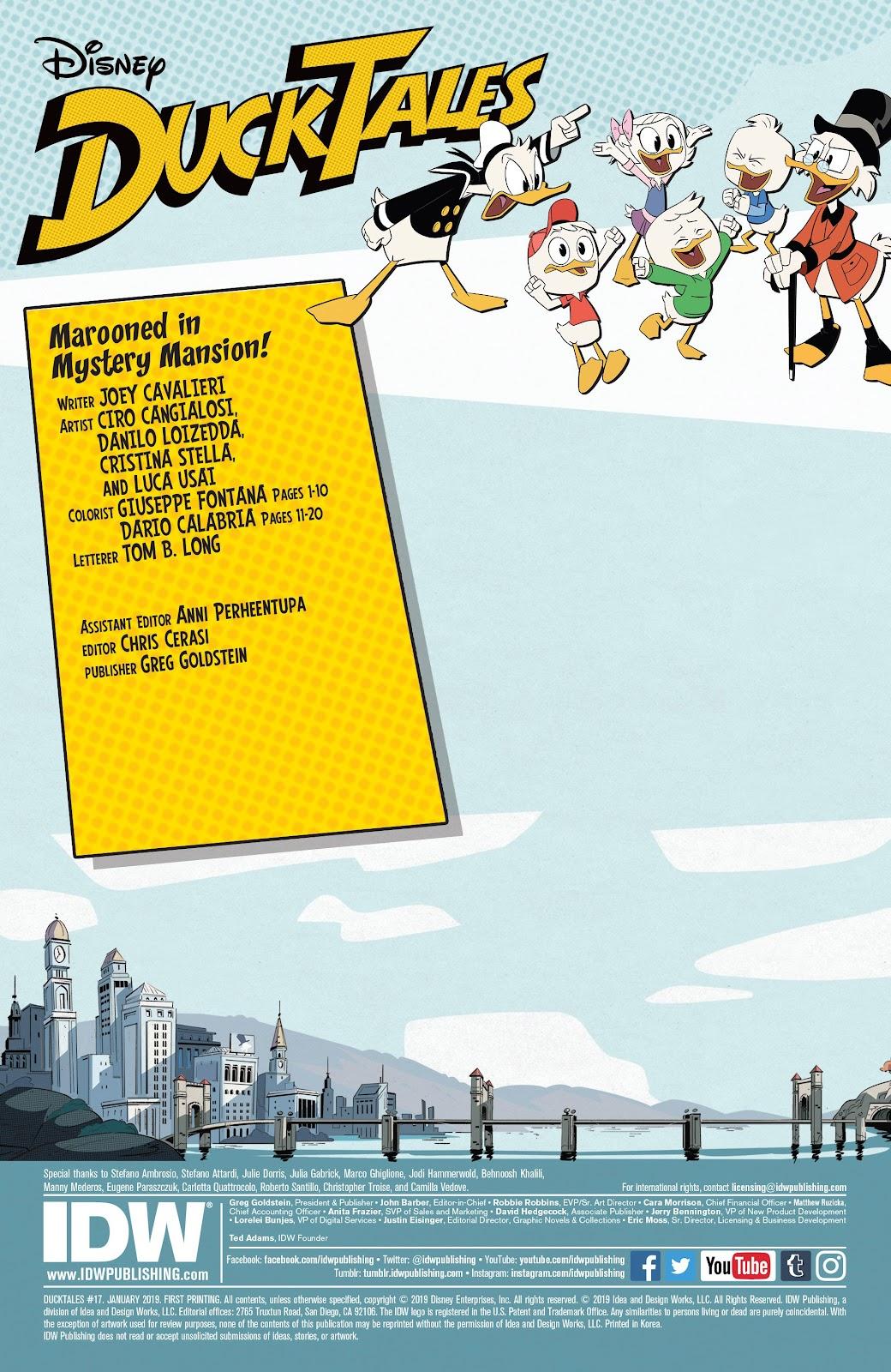 Read online Ducktales (2017) comic -  Issue #17 - 2