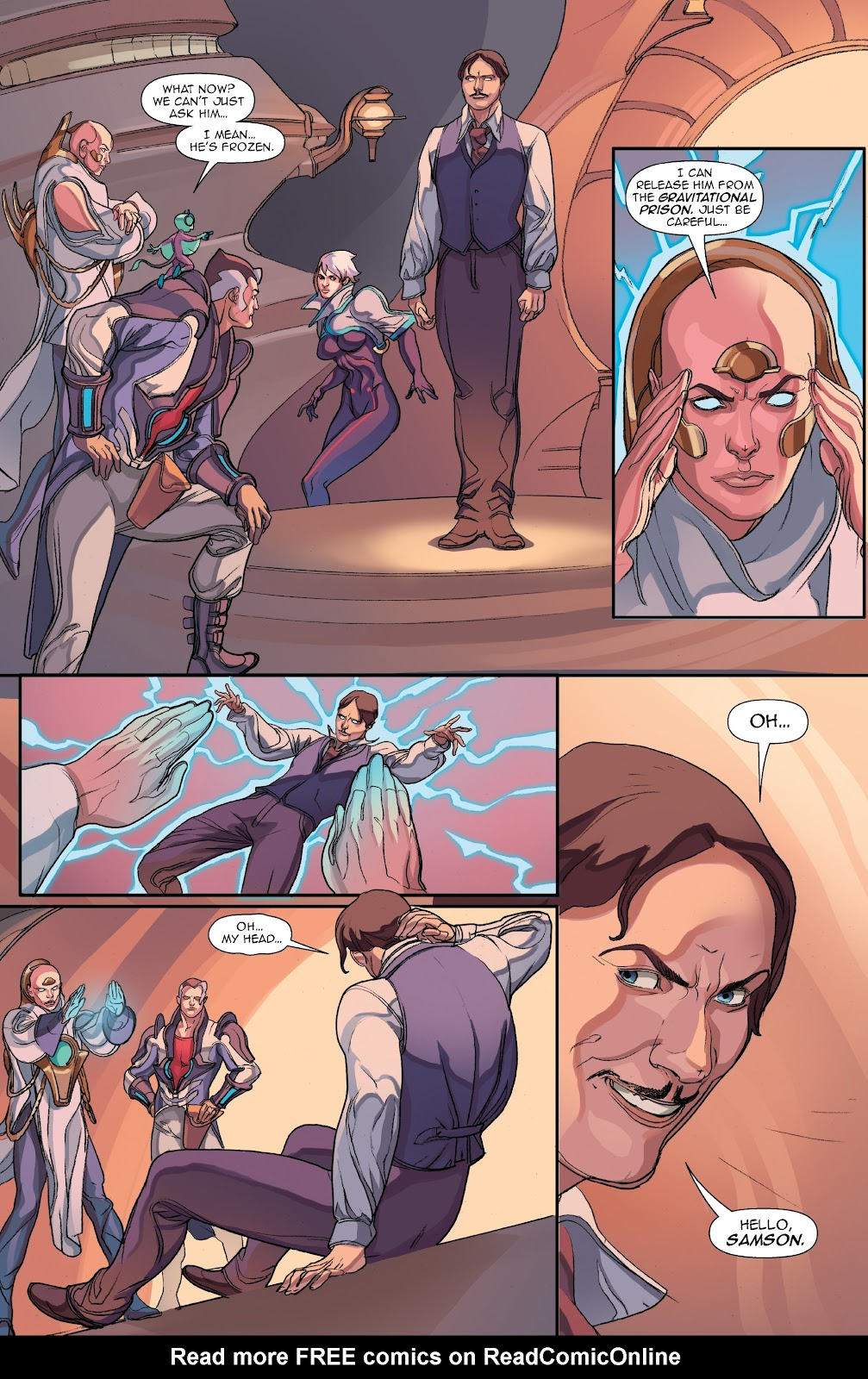Read online Lightstep comic -  Issue #5 - 14