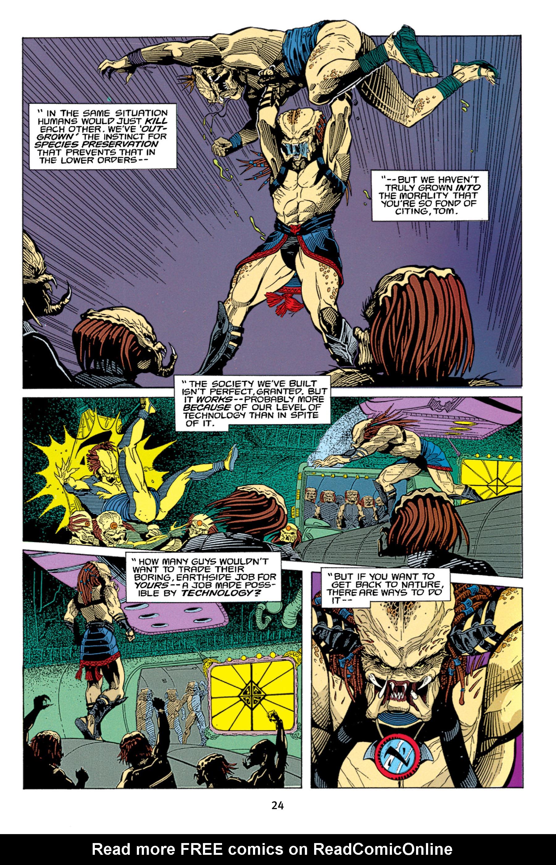 Read online Aliens vs. Predator Omnibus comic -  Issue # _TPB 1 Part 1 - 24