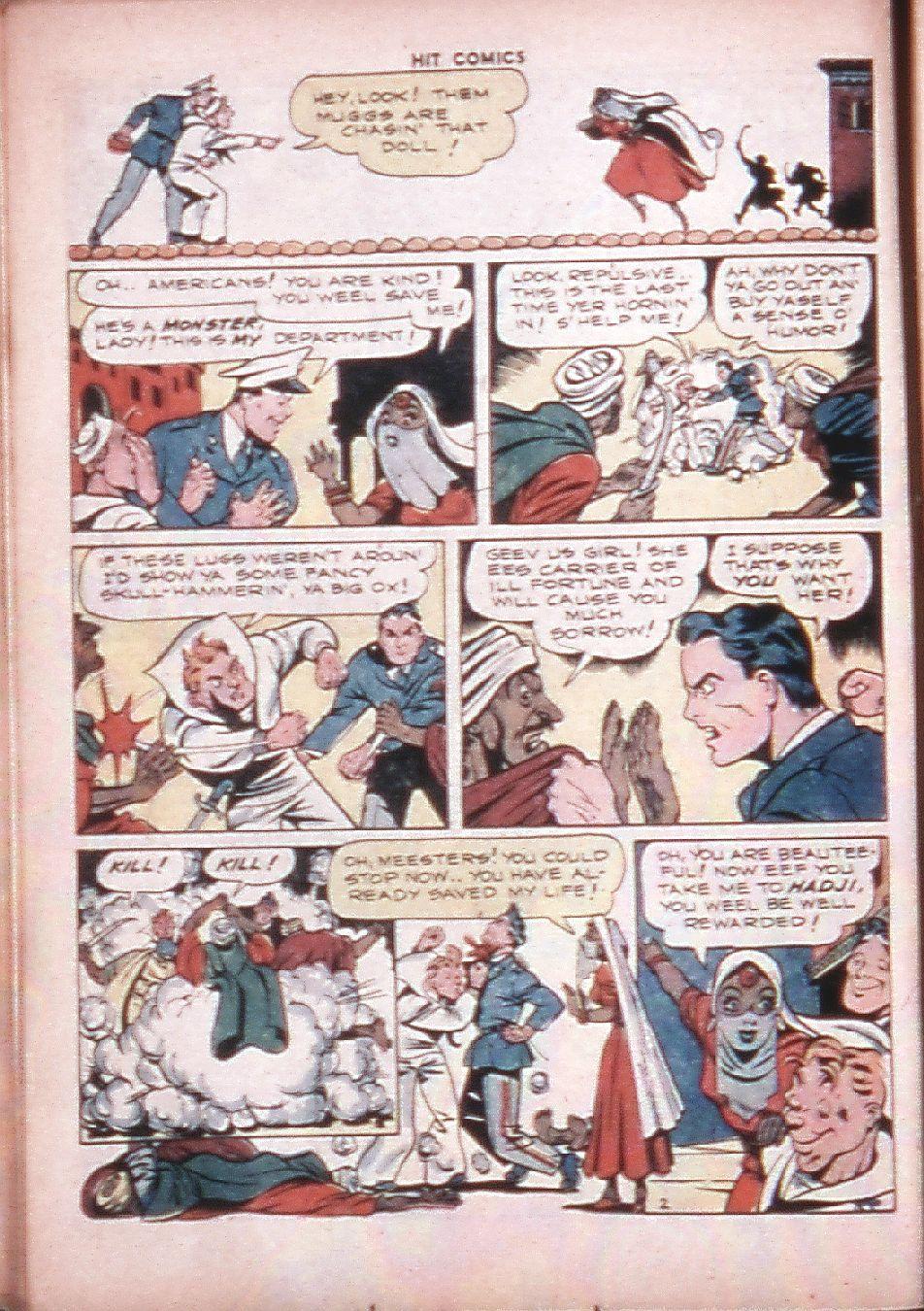 Read online Hit Comics comic -  Issue #33 - 25
