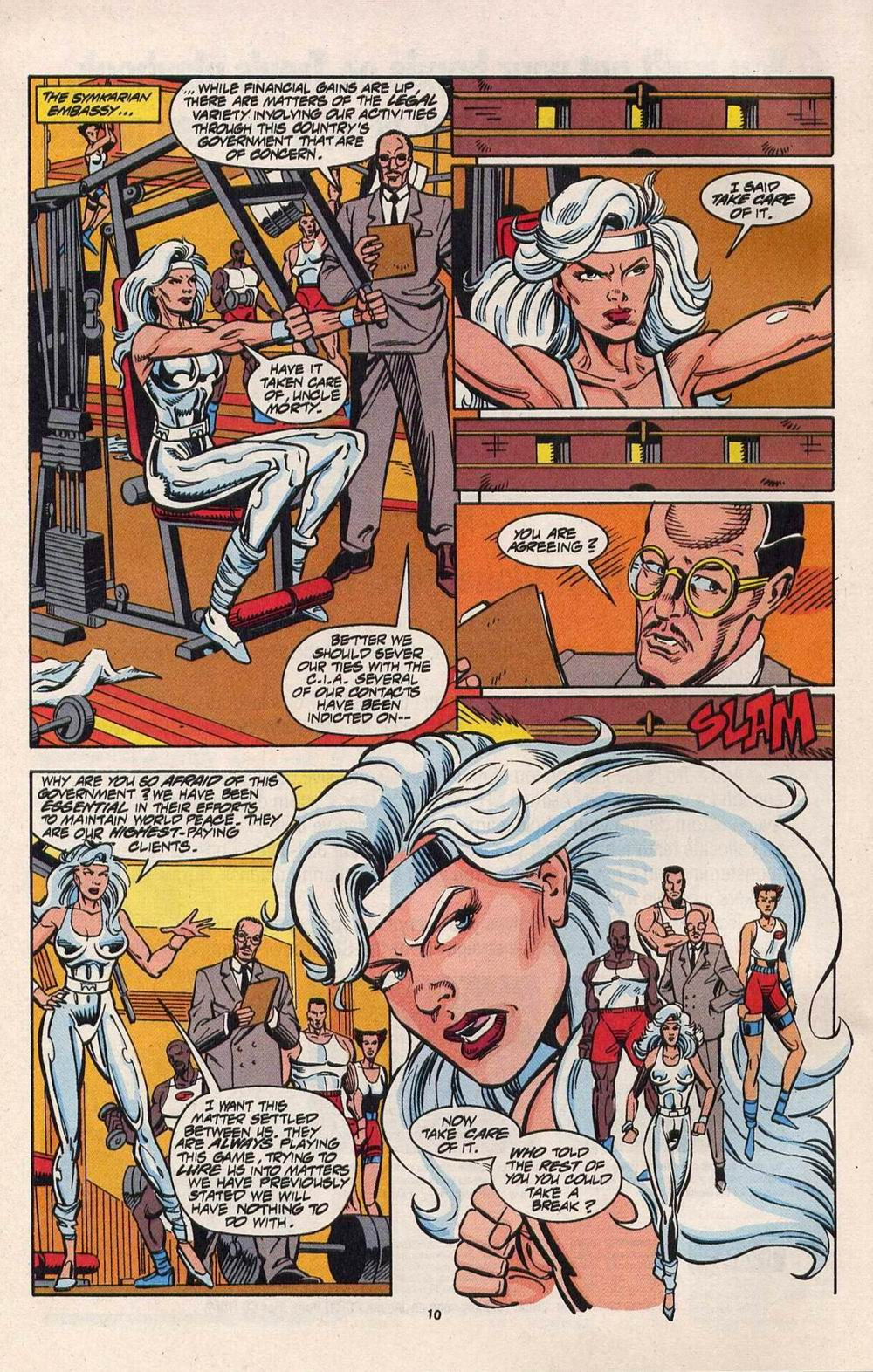 Read online Silver Sable and the Wild Pack comic -  Issue #28 - 8