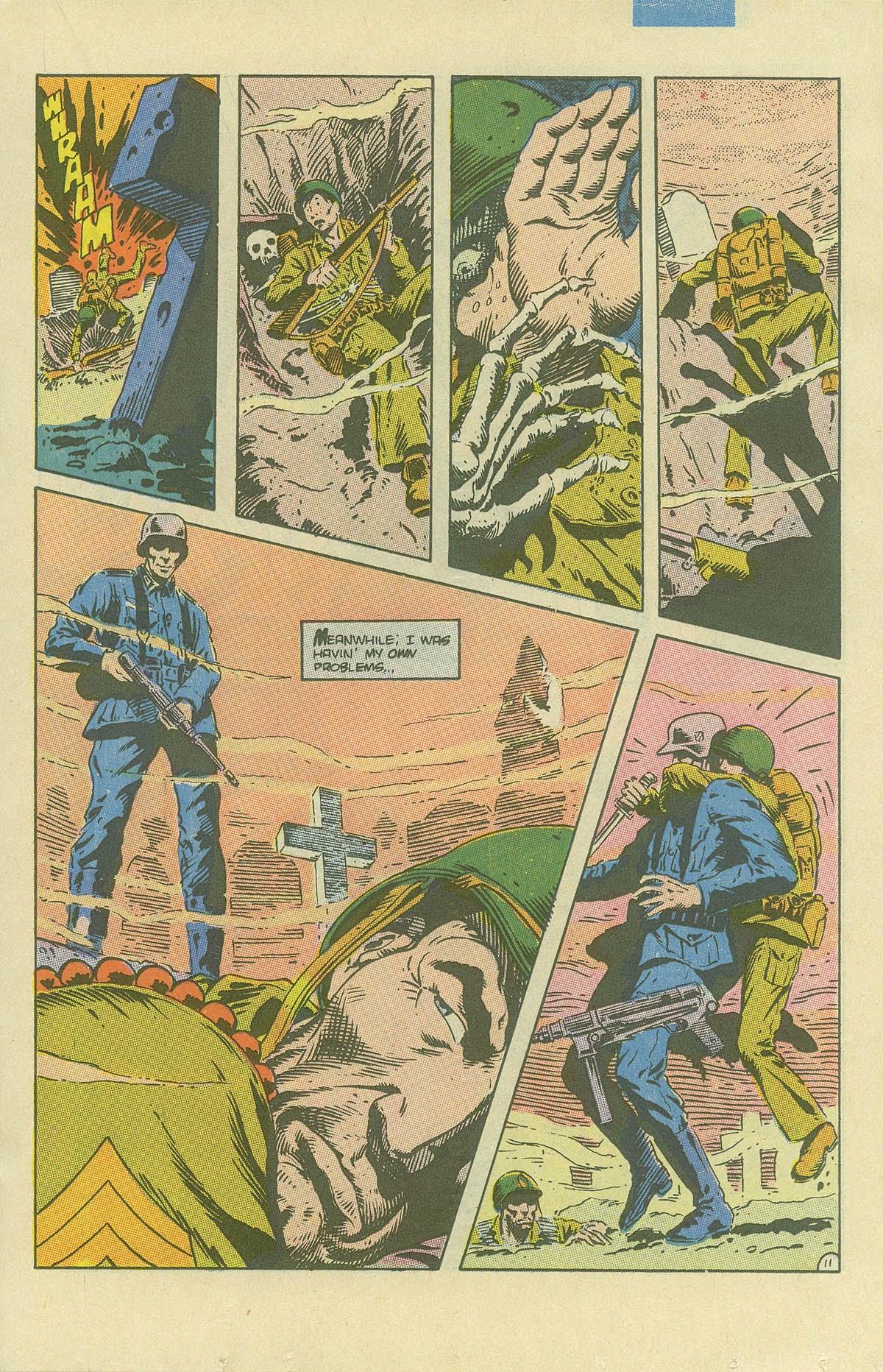 Read online Sgt. Rock comic -  Issue #408 - 16