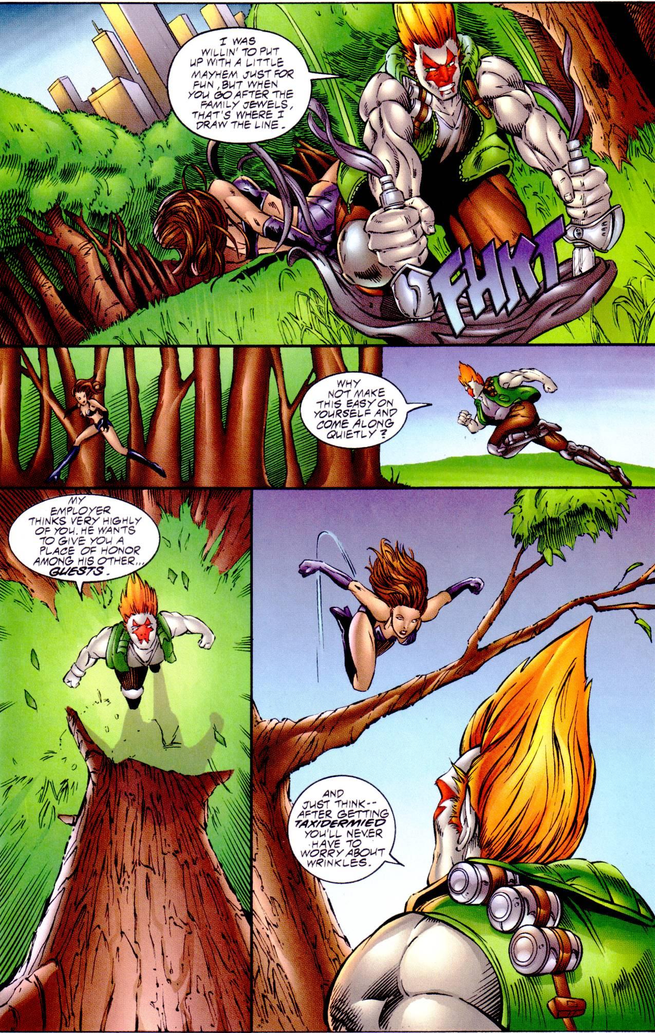 Read online Avengelyne (1996) comic -  Issue #14 - 11
